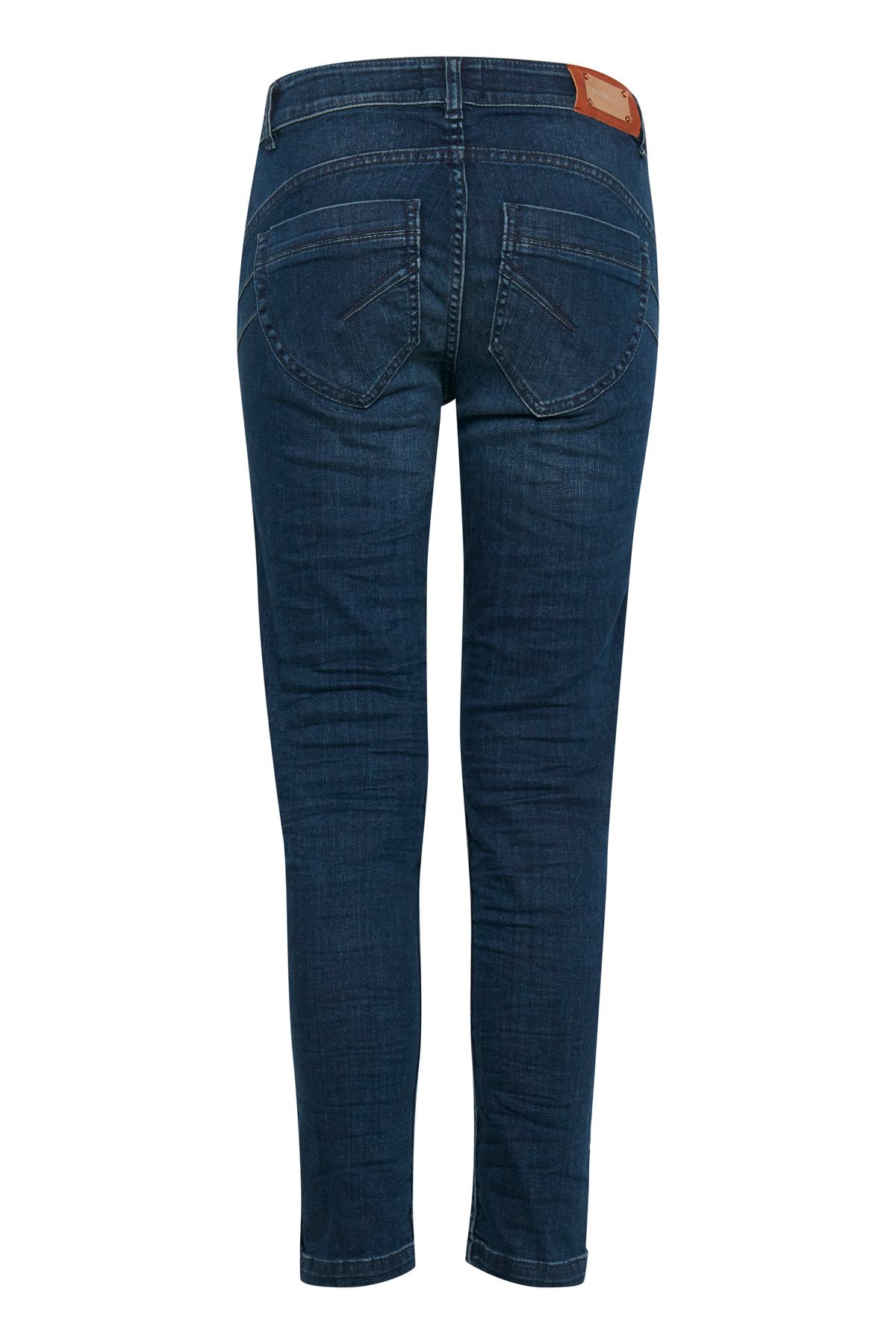 Mørk denimblå Jeans fra Dranella – Køb Mørk denimblå Jeans fra str. 32-46 her