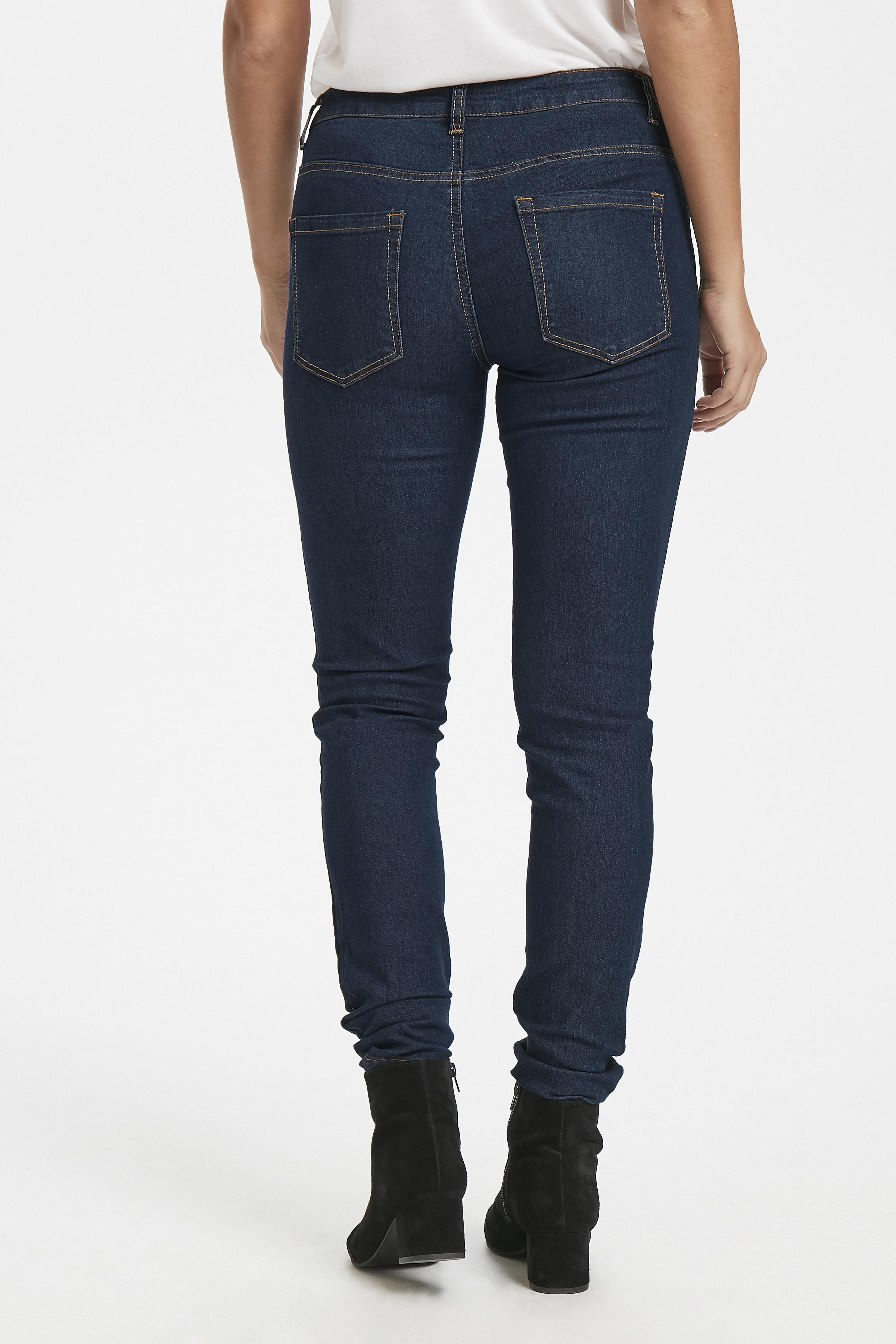 Mørk denimblå Jeans fra Kaffe – Køb Mørk denimblå Jeans fra str. 34-46 her