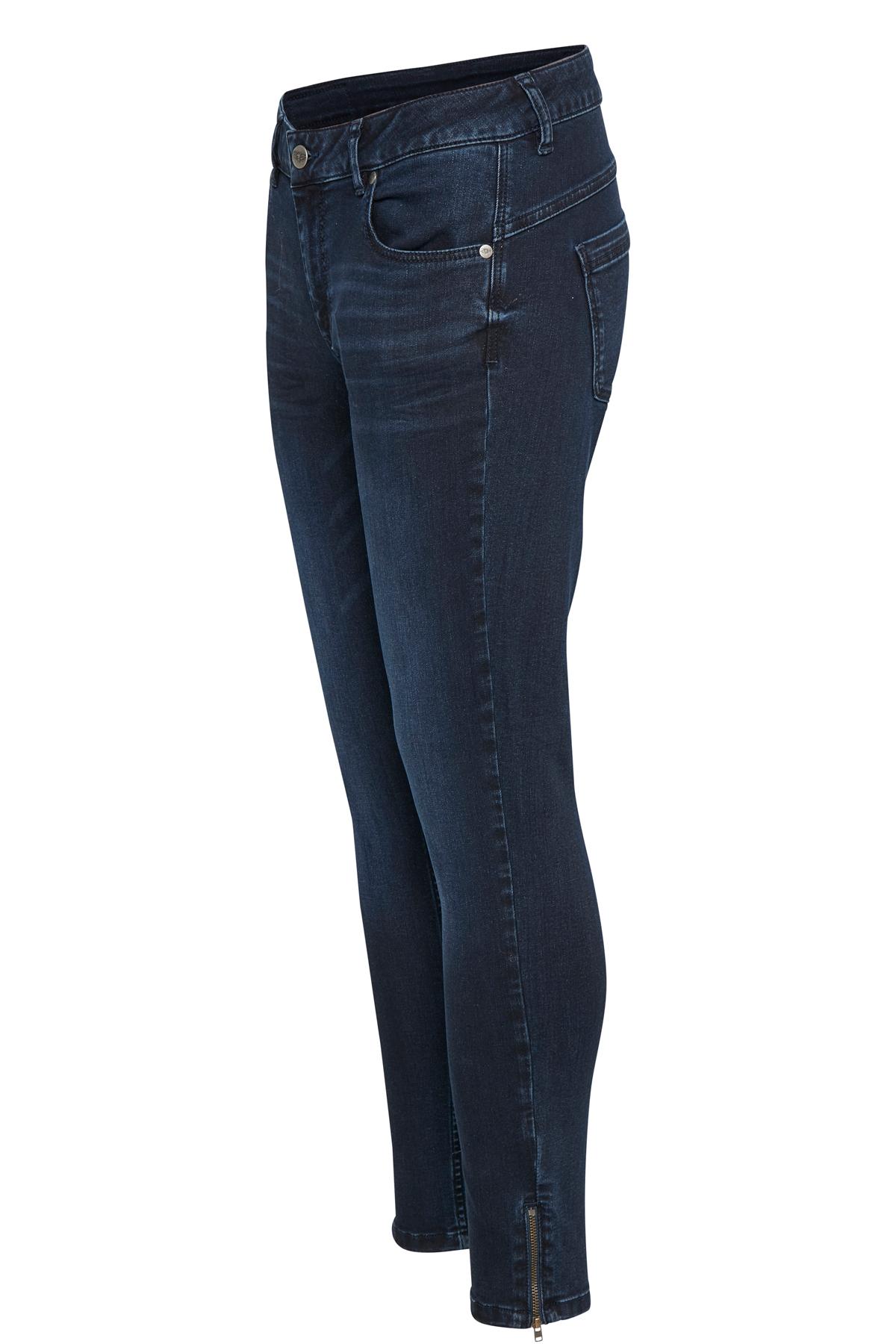 Mørk denimblå Jeans fra Denim Hunter – Køb Mørk denimblå Jeans fra str. 24-35 her