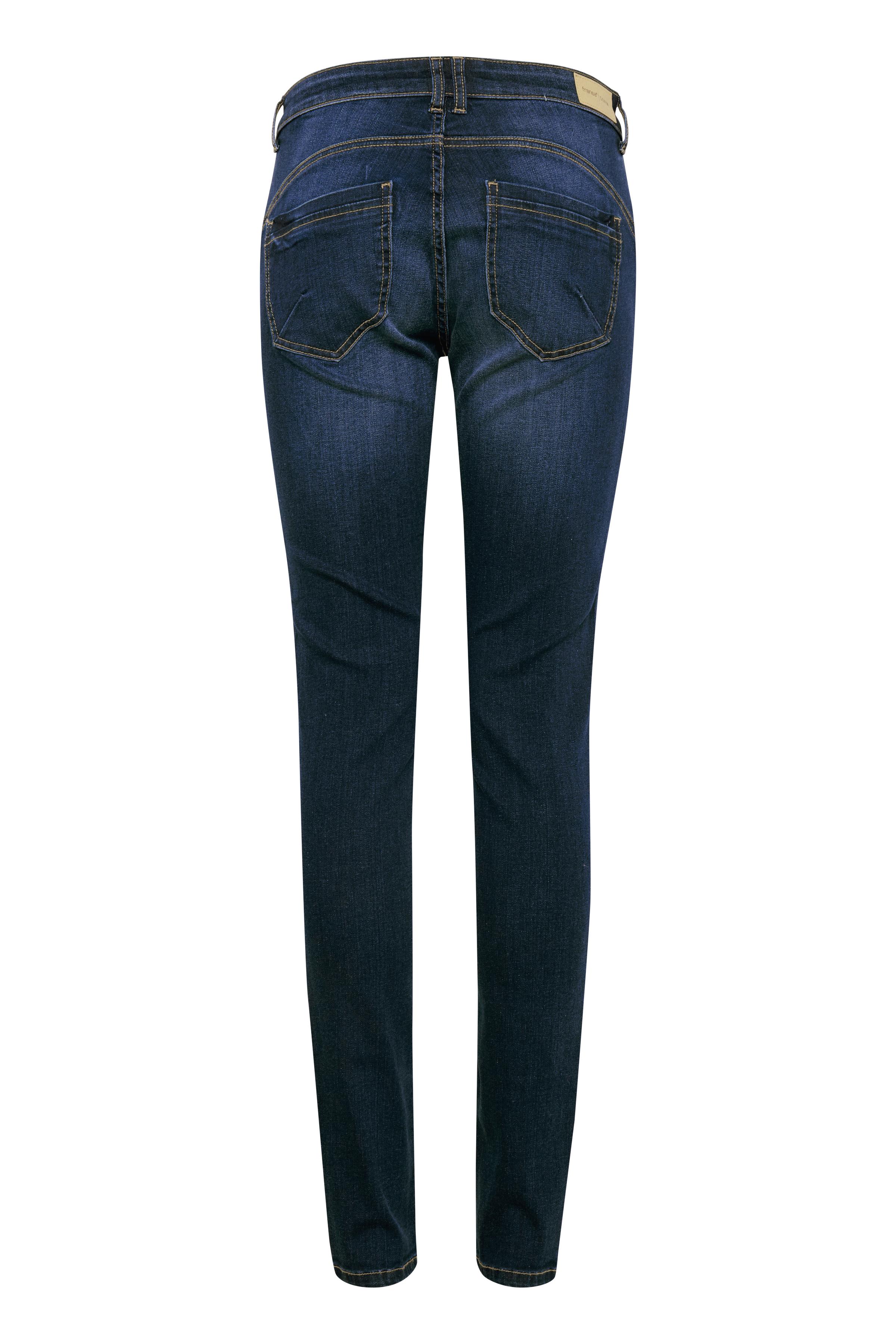 Mørk denimblå Jeans fra Fransa – Køb Mørk denimblå Jeans fra str. 34-46 her