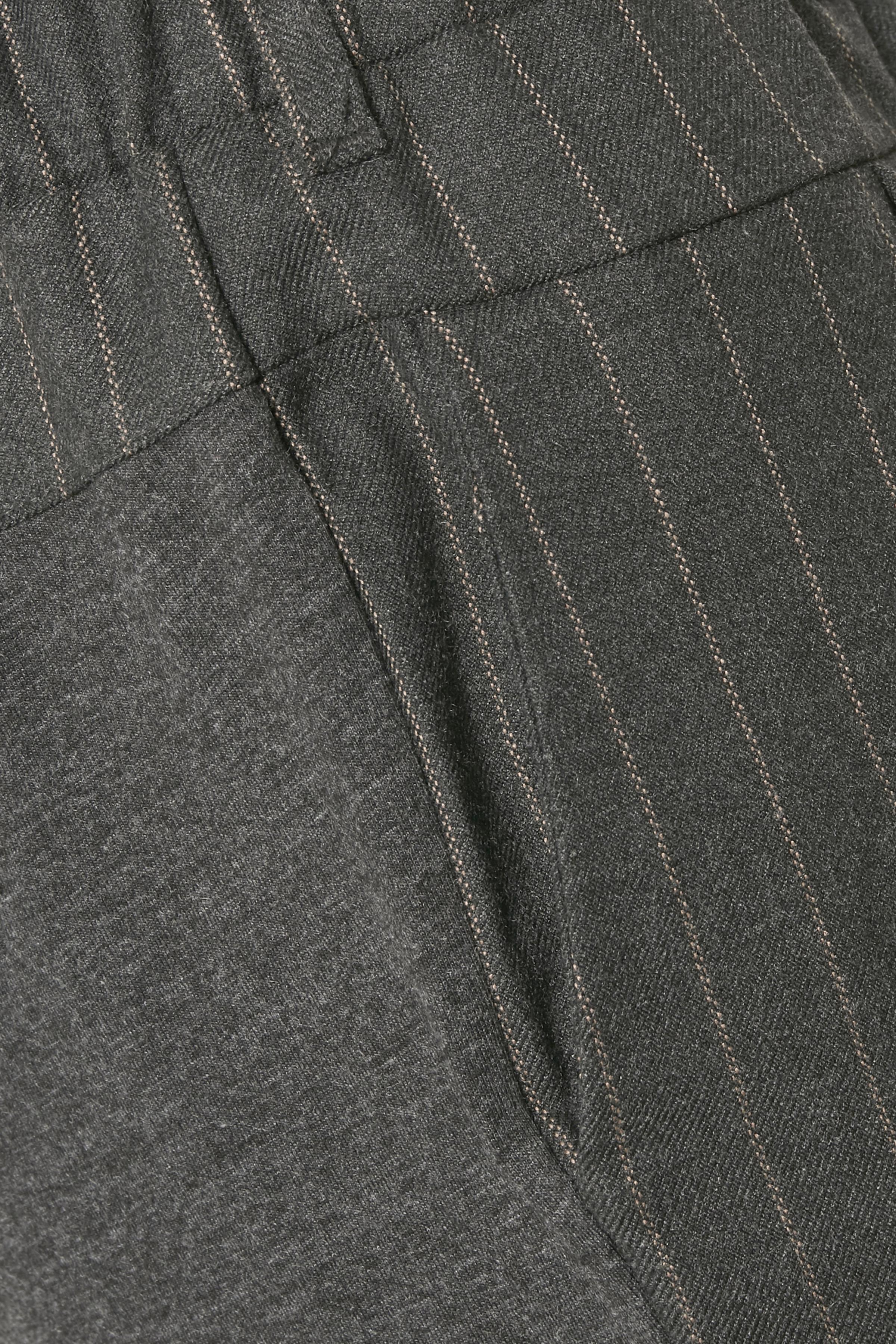 Mørk gråmeleret Bukser fra Kaffe – Køb Mørk gråmeleret Bukser fra str. 32-46 her