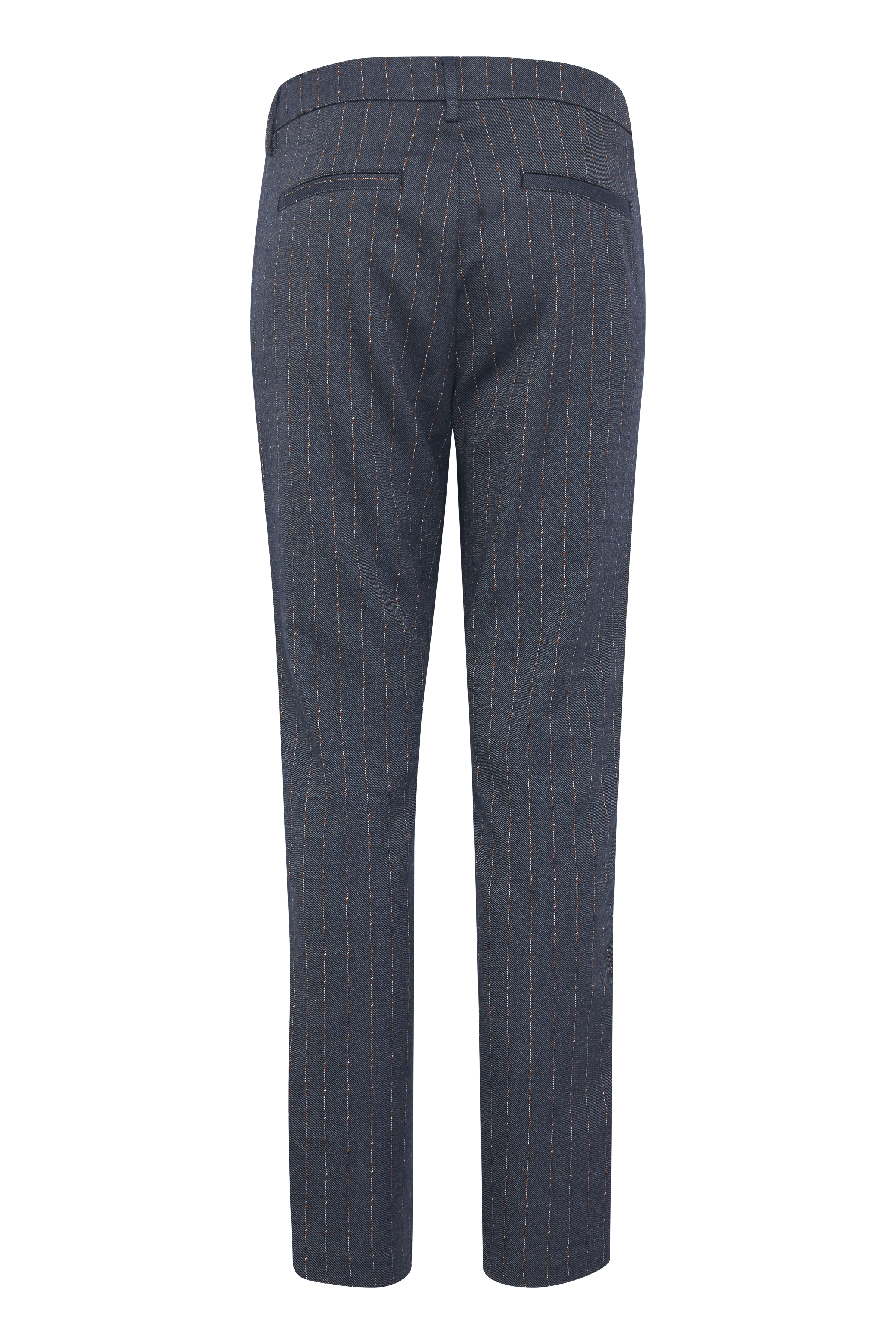 Mørk gråmeleret Casual bukser fra Pulz Jeans – Køb Mørk gråmeleret Casual bukser fra str. 32-46 her