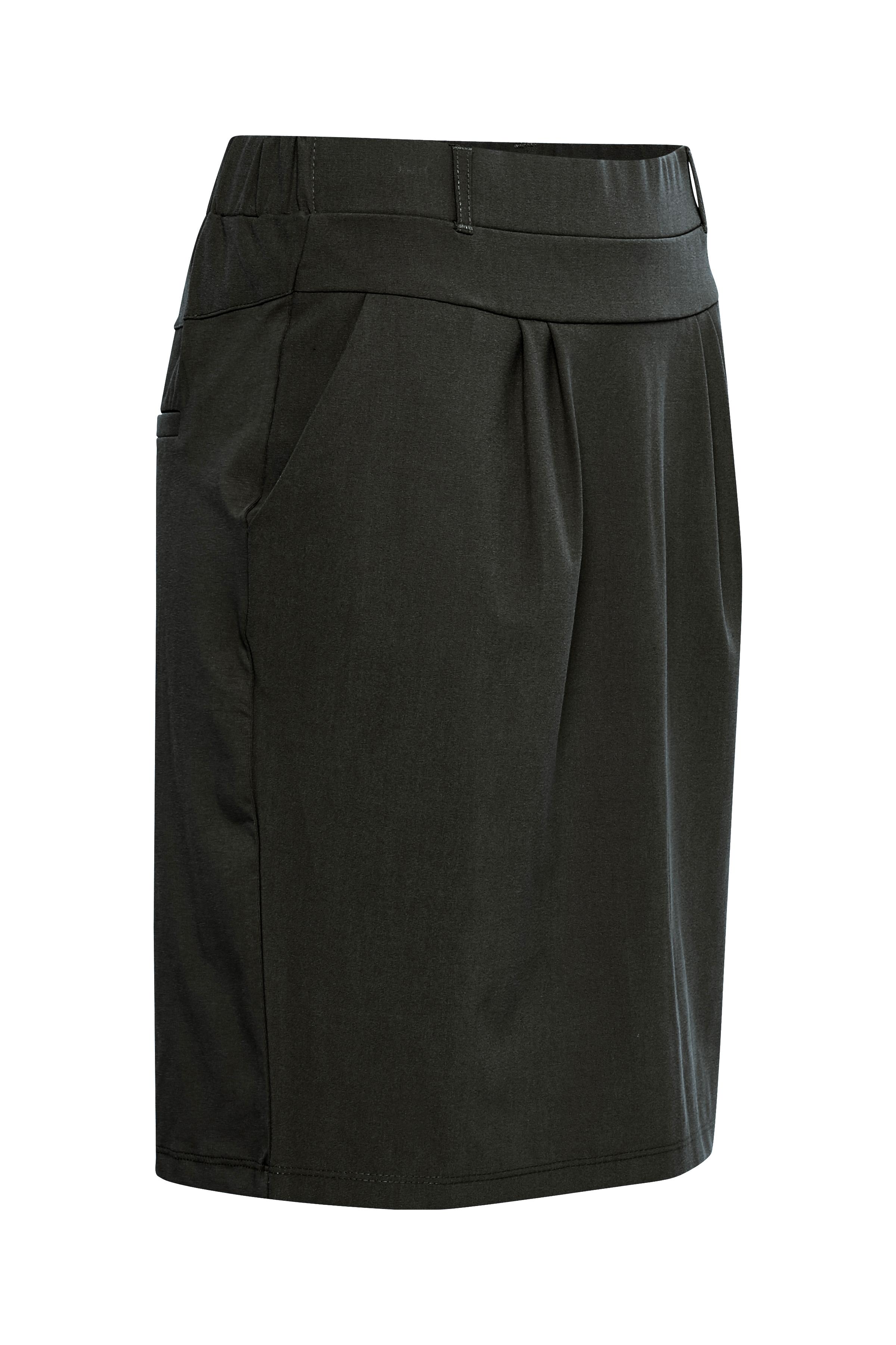 Mørk gråmeleret Nederdel fra Kaffe – Køb Mørk gråmeleret Nederdel fra str. 32-46 her
