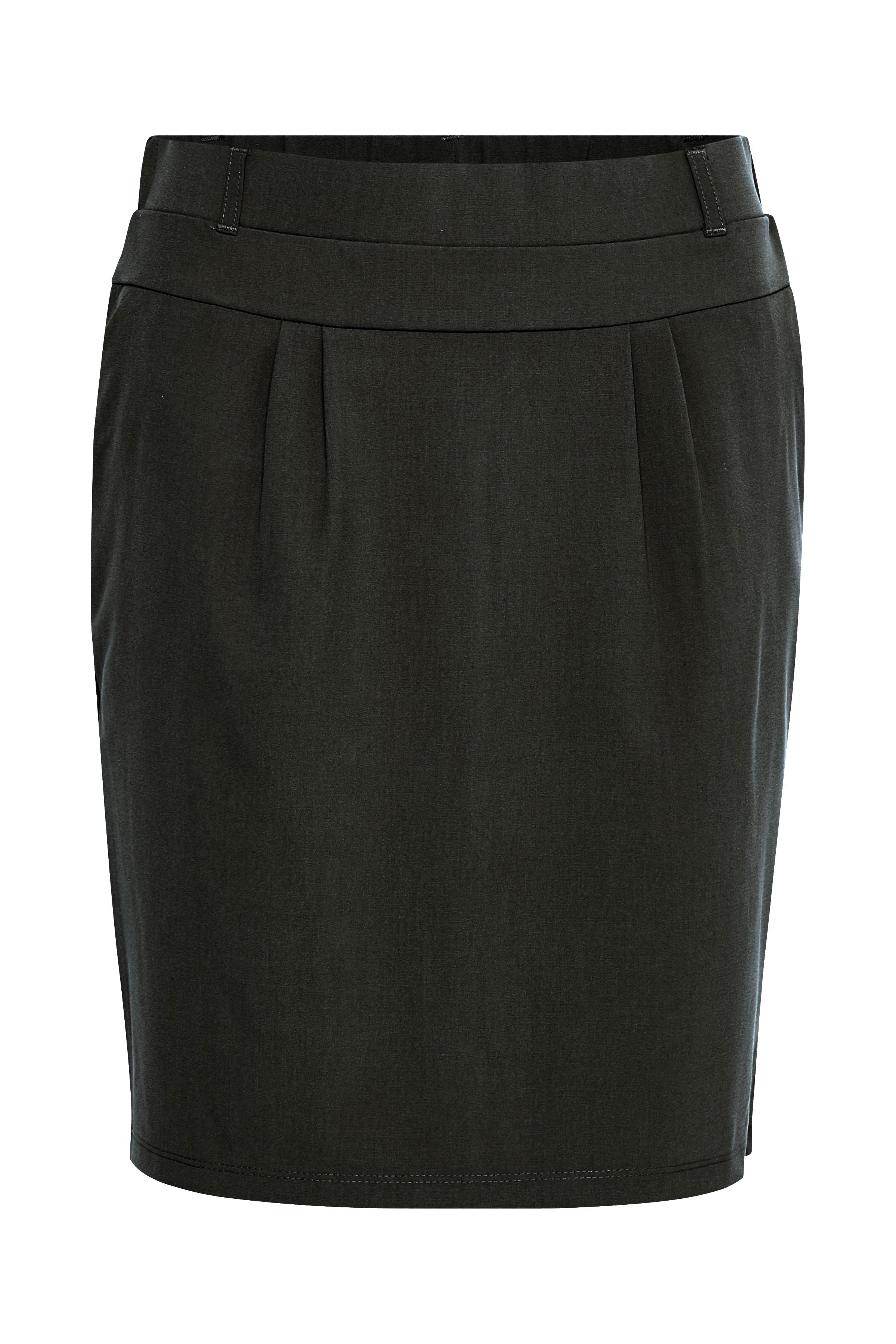 Mørk gråmeleret Nederdele fra Kaffe – Køb Mørk gråmeleret Nederdele fra str. 32-46 her