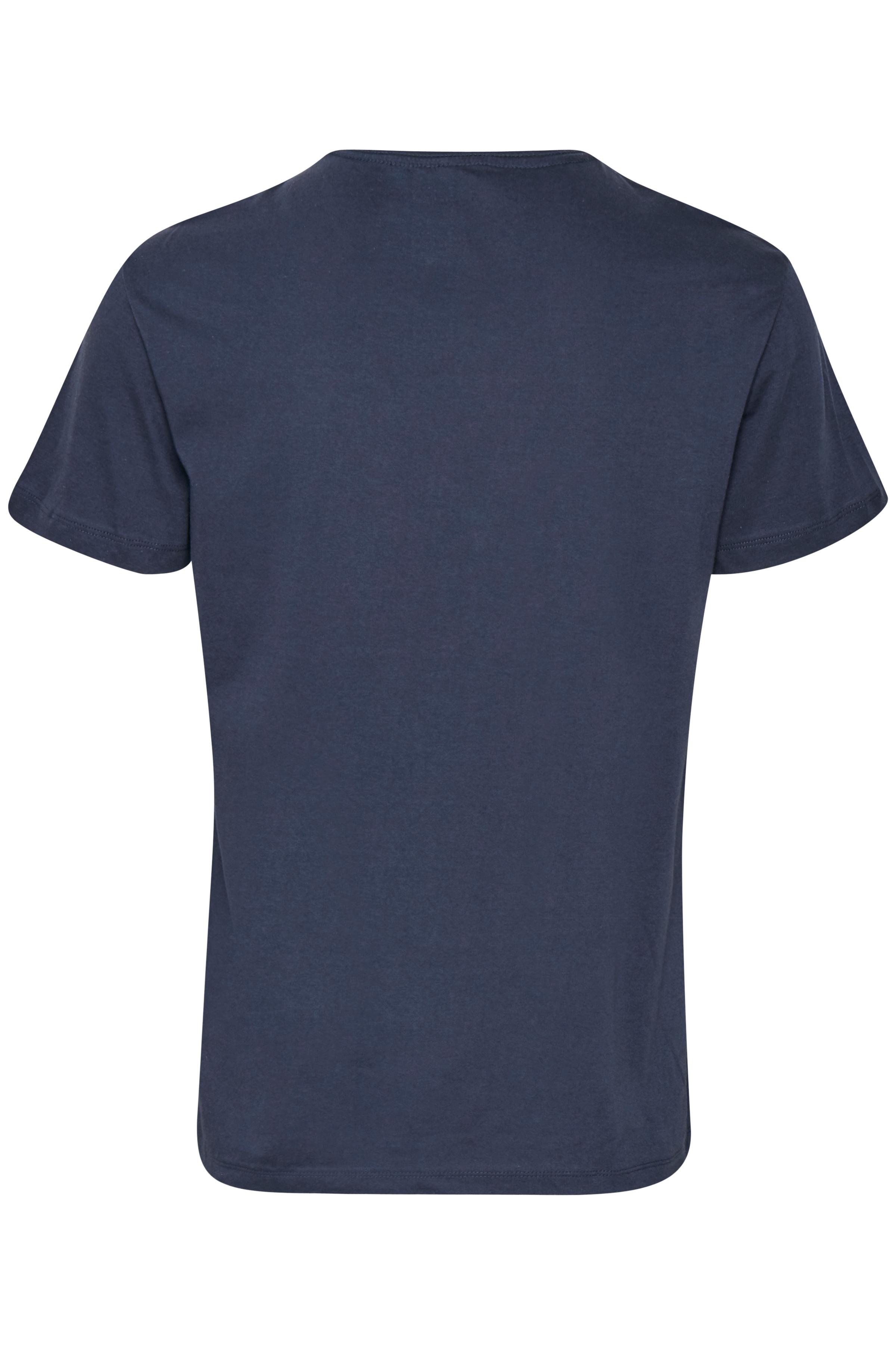 Mørk indigoblå Kortærmet T-shirt fra Blend He – Køb Mørk indigoblå Kortærmet T-shirt fra str. S-3XL her