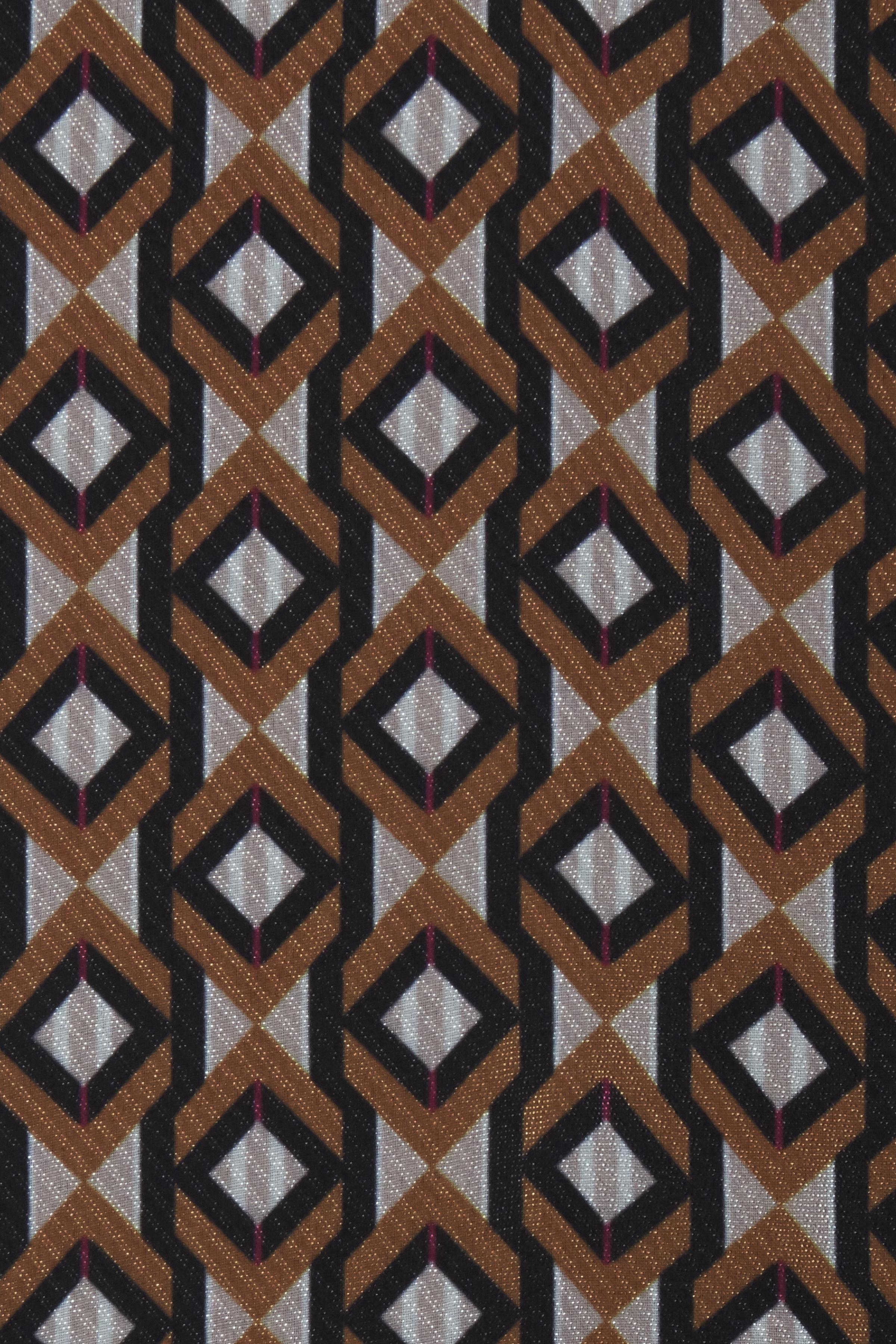 Mørk karry/off-white Langærmet bluse fra Fransa – Køb Mørk karry/off-white Langærmet bluse fra str. XS-XXL her