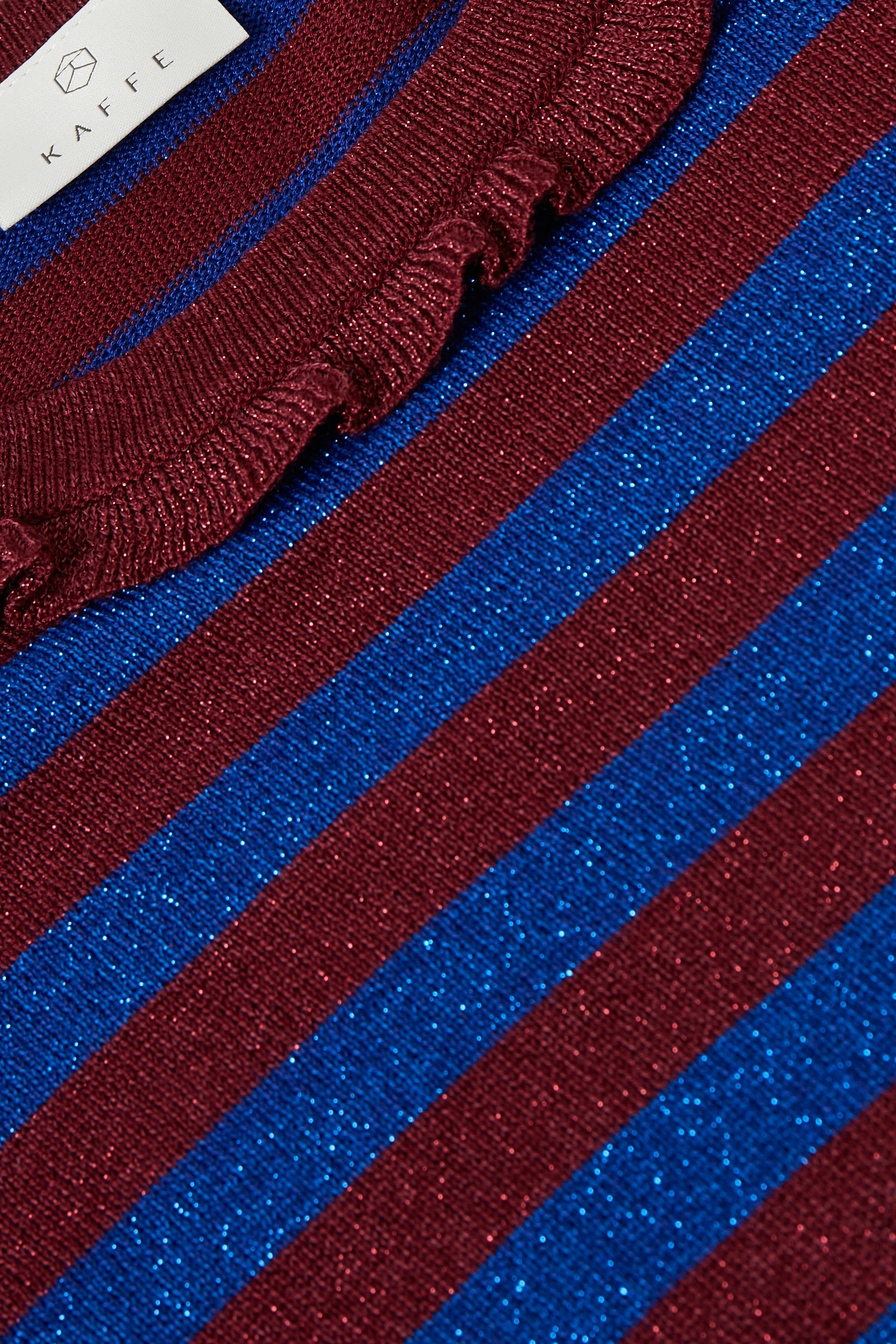 Mørk kobolt/marineblå Strikpullover fra Kaffe – Køb Mørk kobolt/marineblå Strikpullover fra str. XS-XXL her