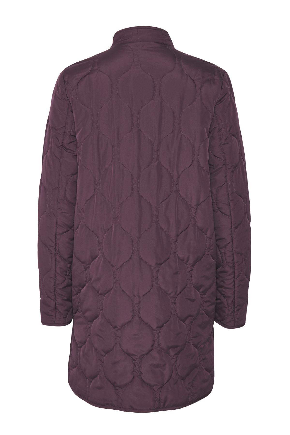Mørk lilla Frakke fra Bon'A Parte – Køb Mørk lilla Frakke fra str. S-2XL her