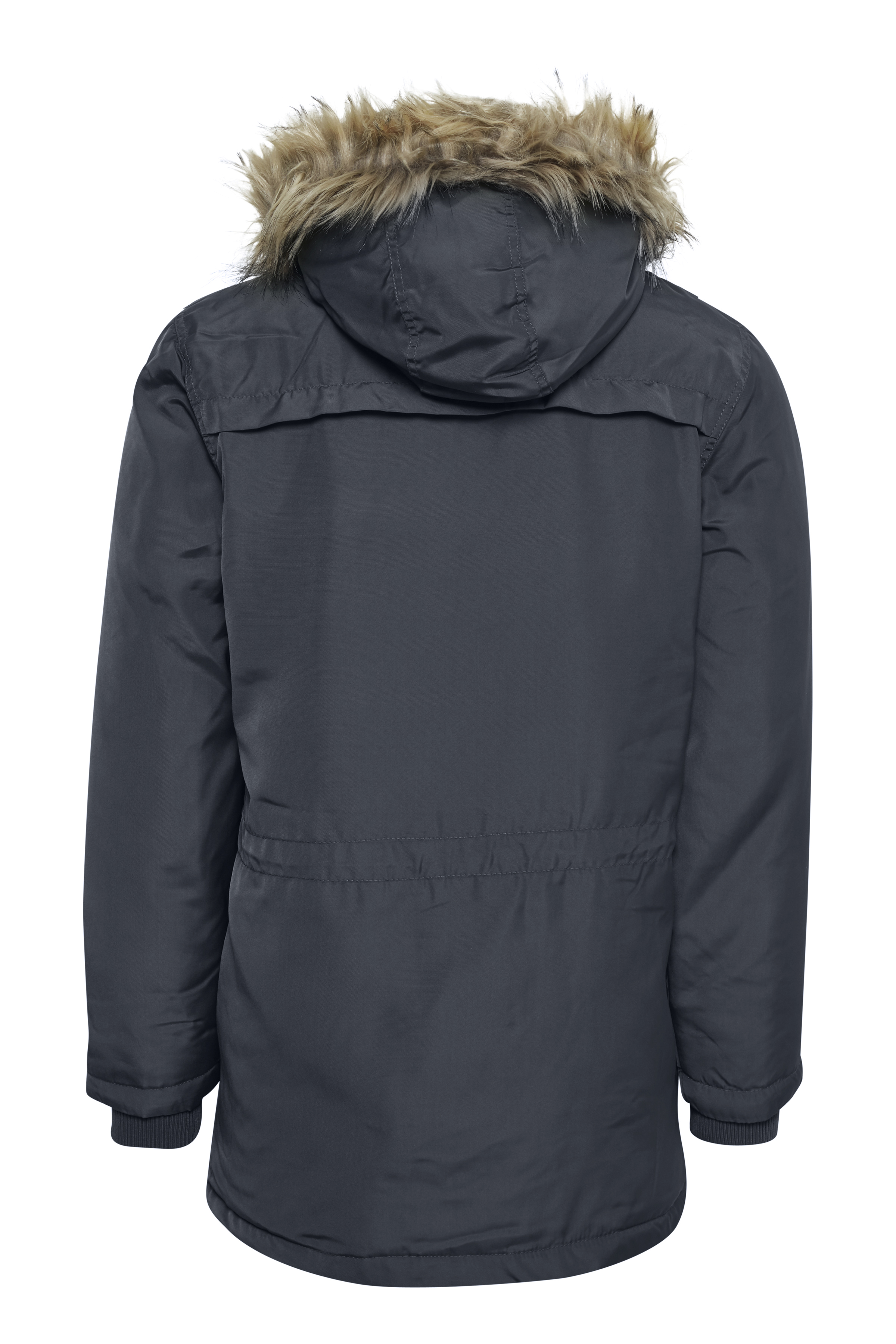 Mørk marineblå Frakke fra Blend He – Køb Mørk marineblå Frakke fra str. S-3XL her