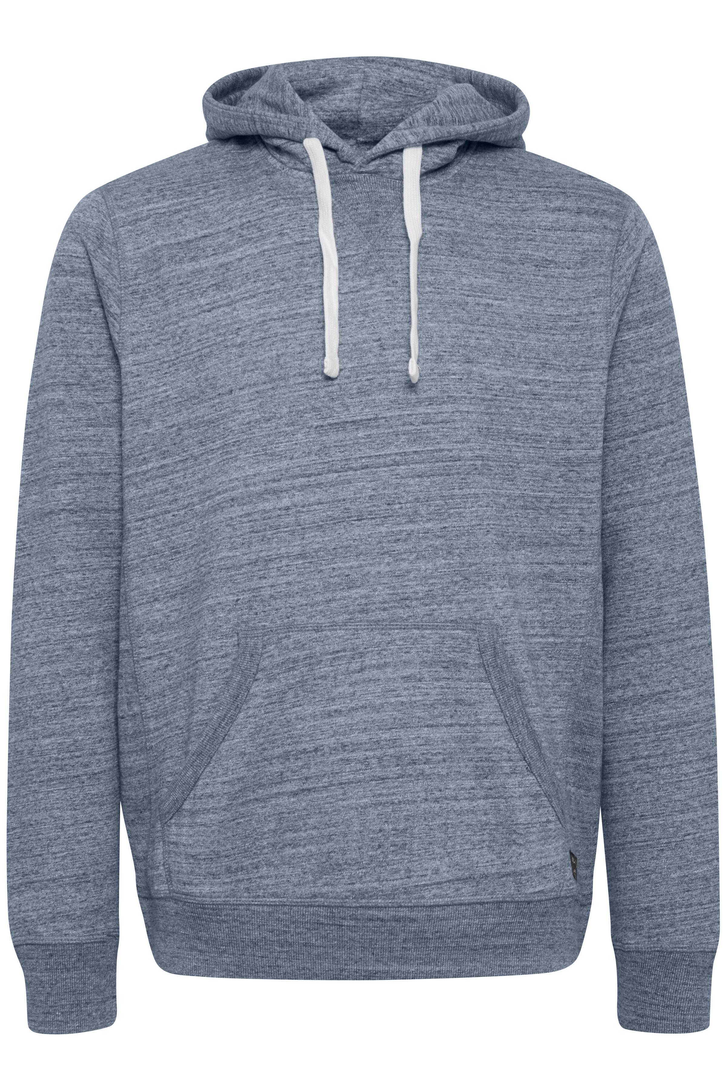 Mørk marineblå Hættetrøje fra Blend He – Køb Mørk marineblå Hættetrøje fra str. S-3XL her