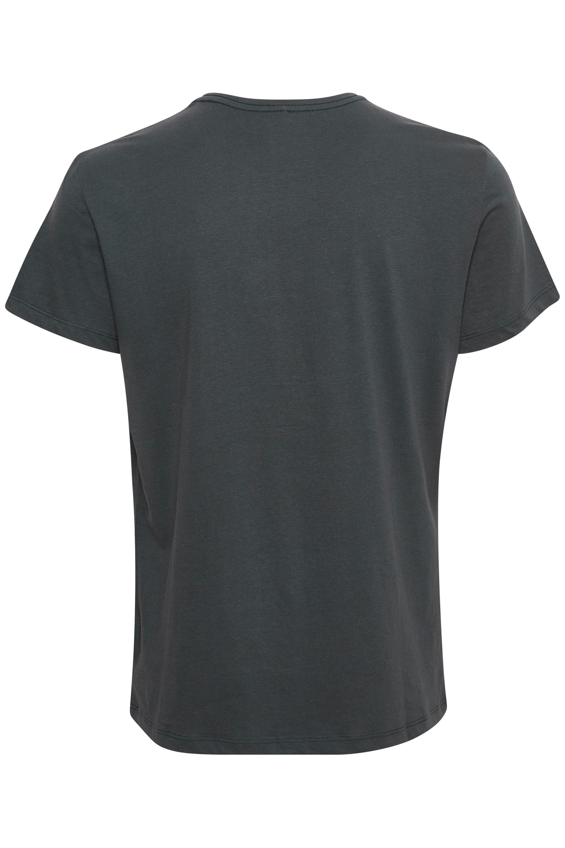 Mørk marineblå Kortærmet T-shirt fra Blend He – Køb Mørk marineblå Kortærmet T-shirt fra str. XS-3XL her