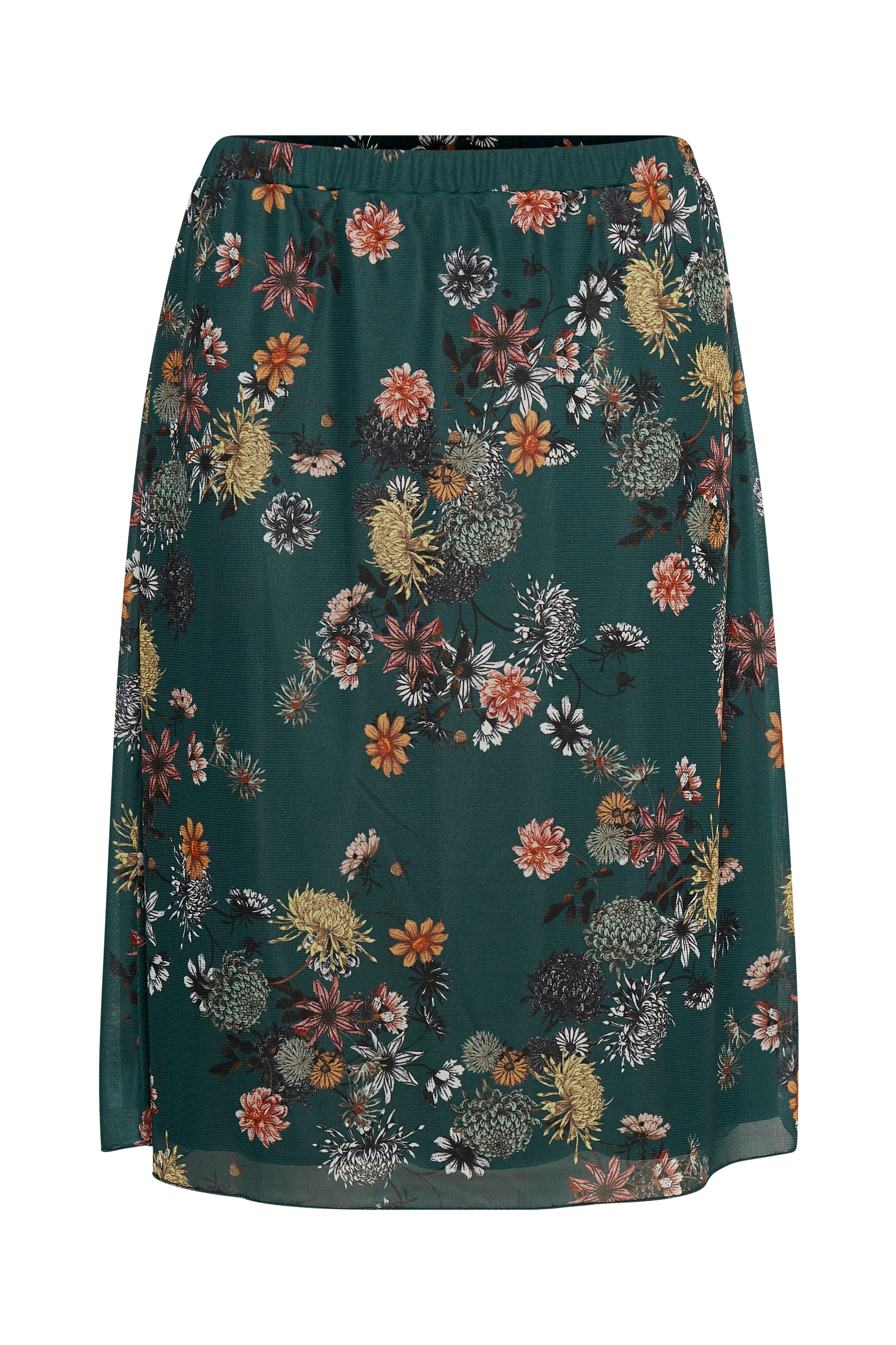 Mørk petrol/antik rosa Nederdel fra Bon'A Parte – Køb Mørk petrol/antik rosa Nederdel fra str. S-2XL her