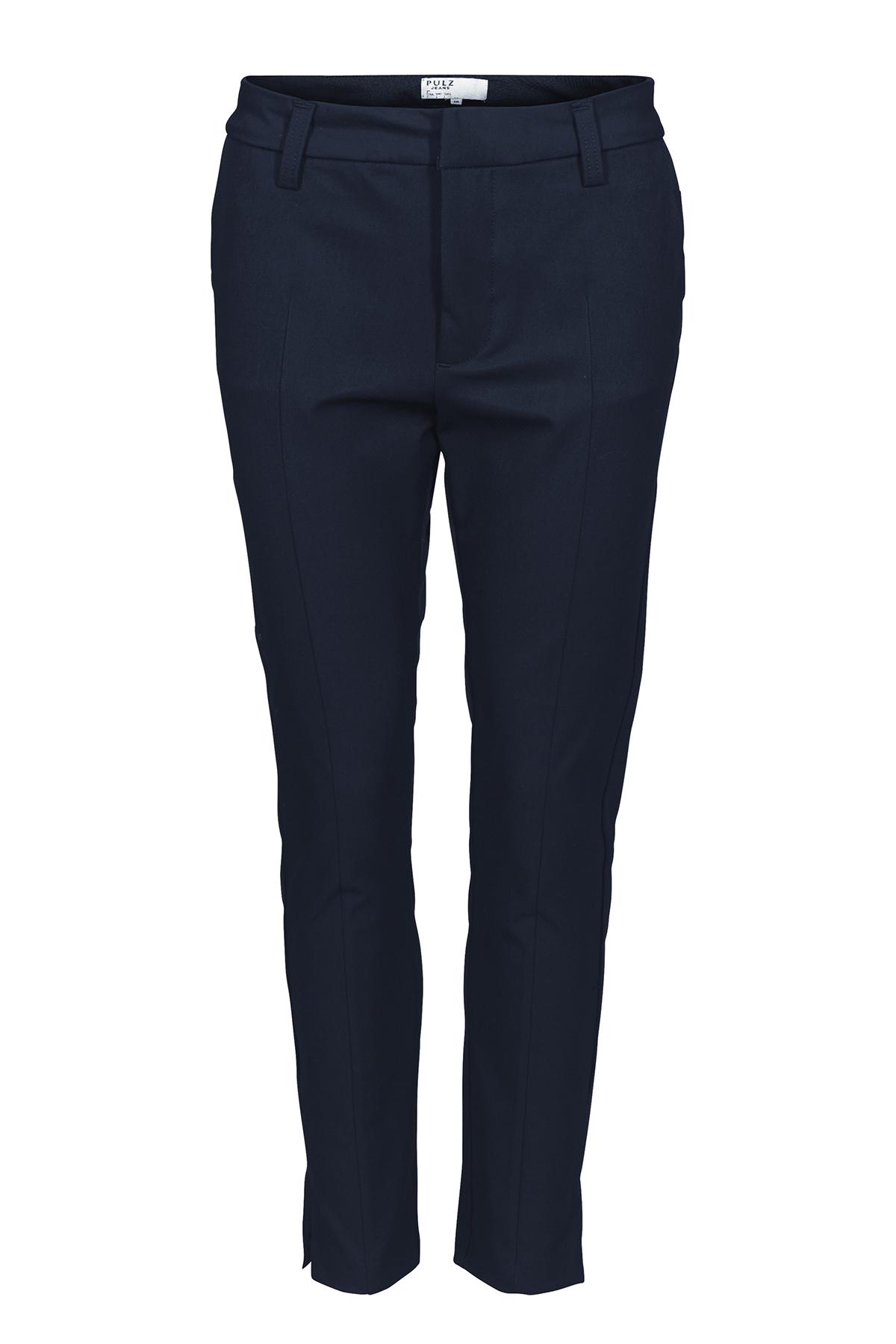 Image of Pulz Jeans Dame Ankelbuks - Mørkeblå
