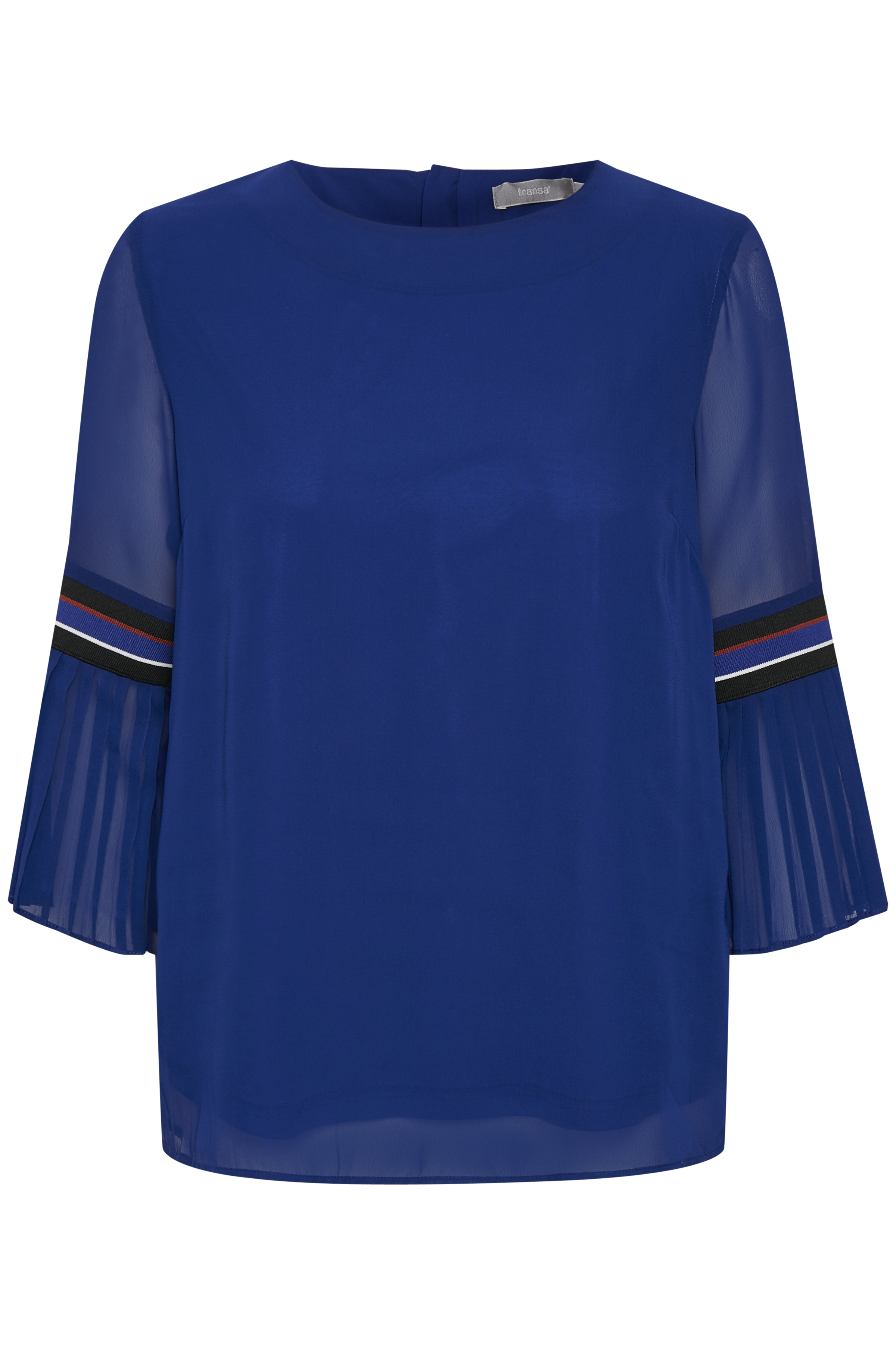 Mørkeblå Bluse fra Fransa – Køb Mørkeblå Bluse fra str. XS-XXL her