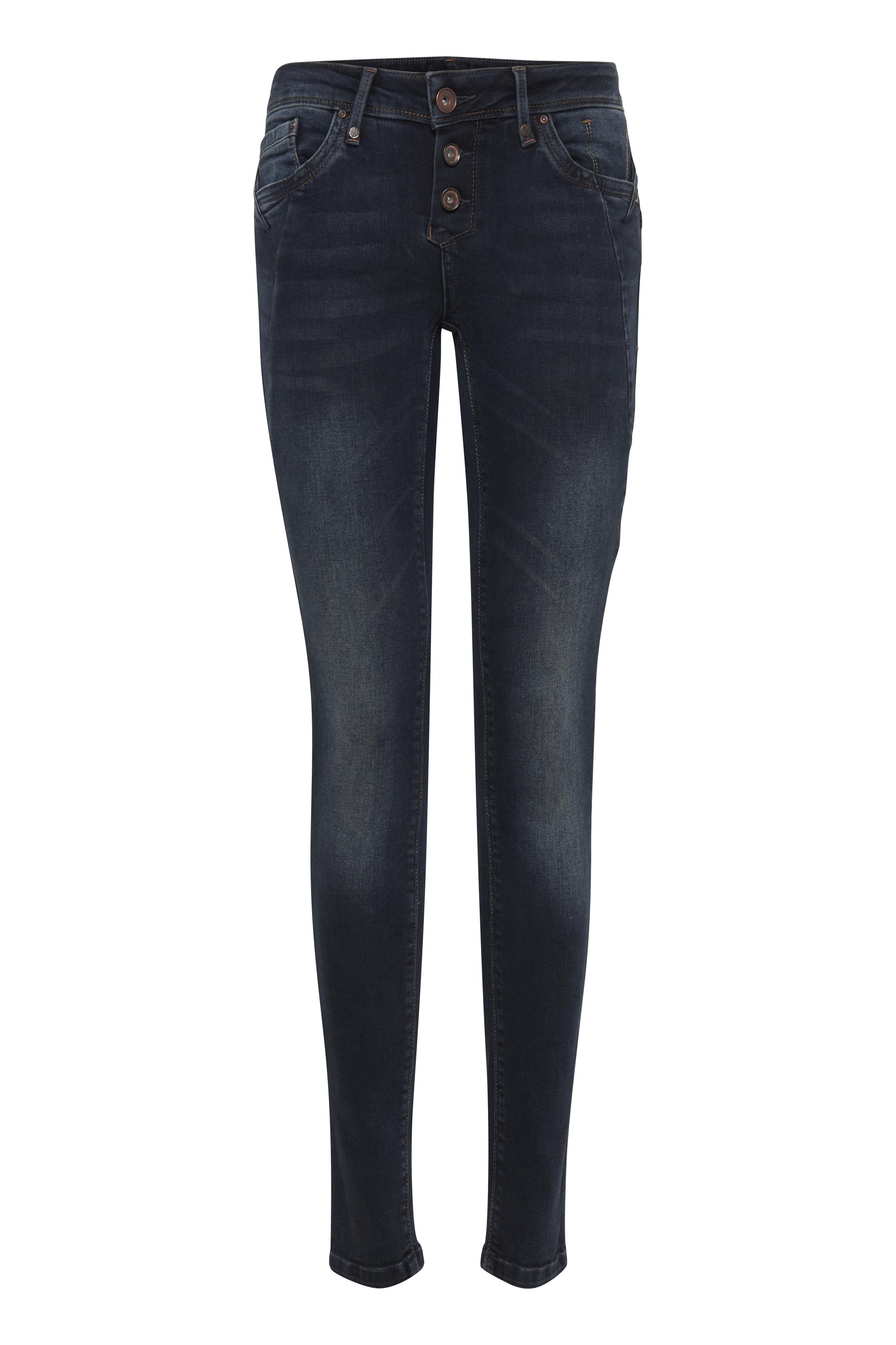 Image of Pulz Jeans Dame Jeans - Mørkeblå