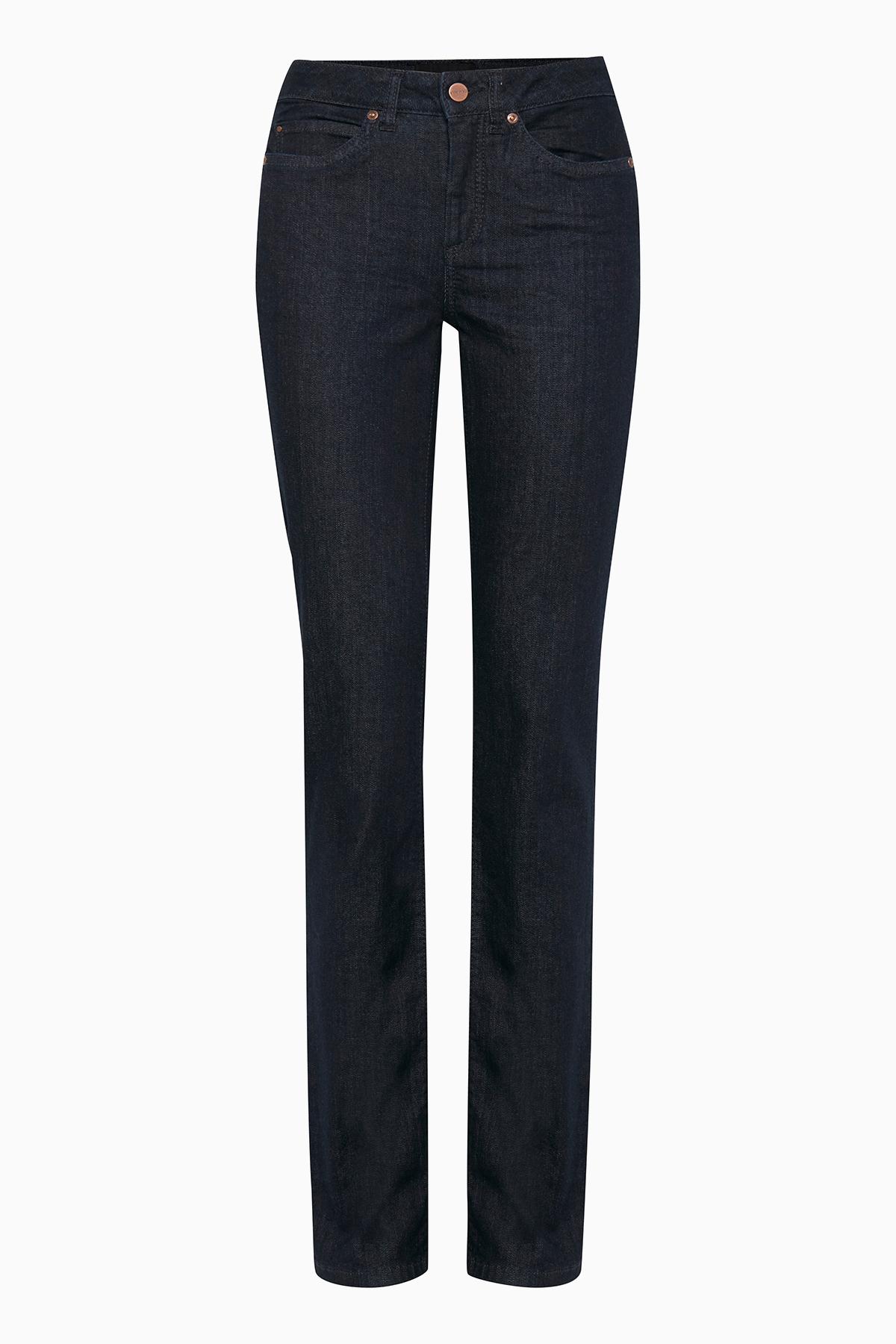 Image of Dranella Dame Flotte Vilnius jeans - Mørkeblå
