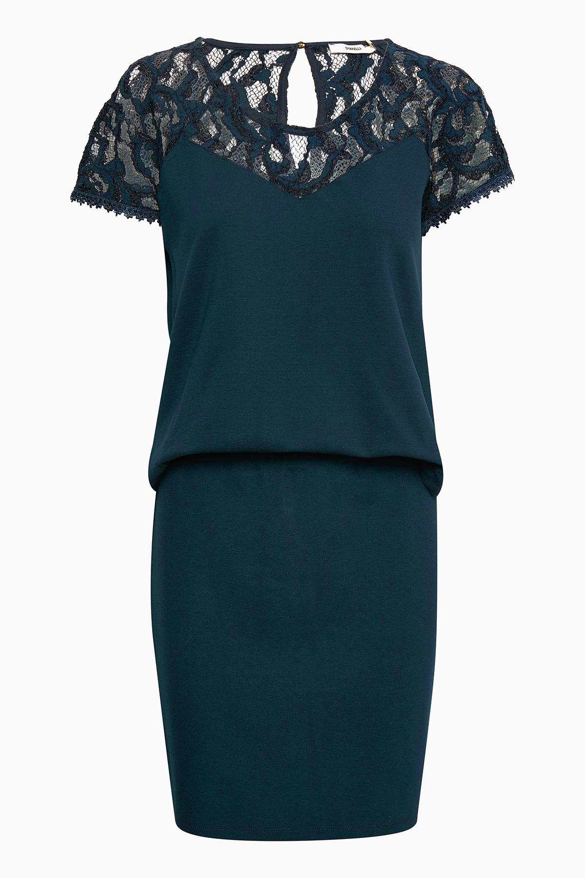 Dranella Dame Fin kjole - Mørkeblå