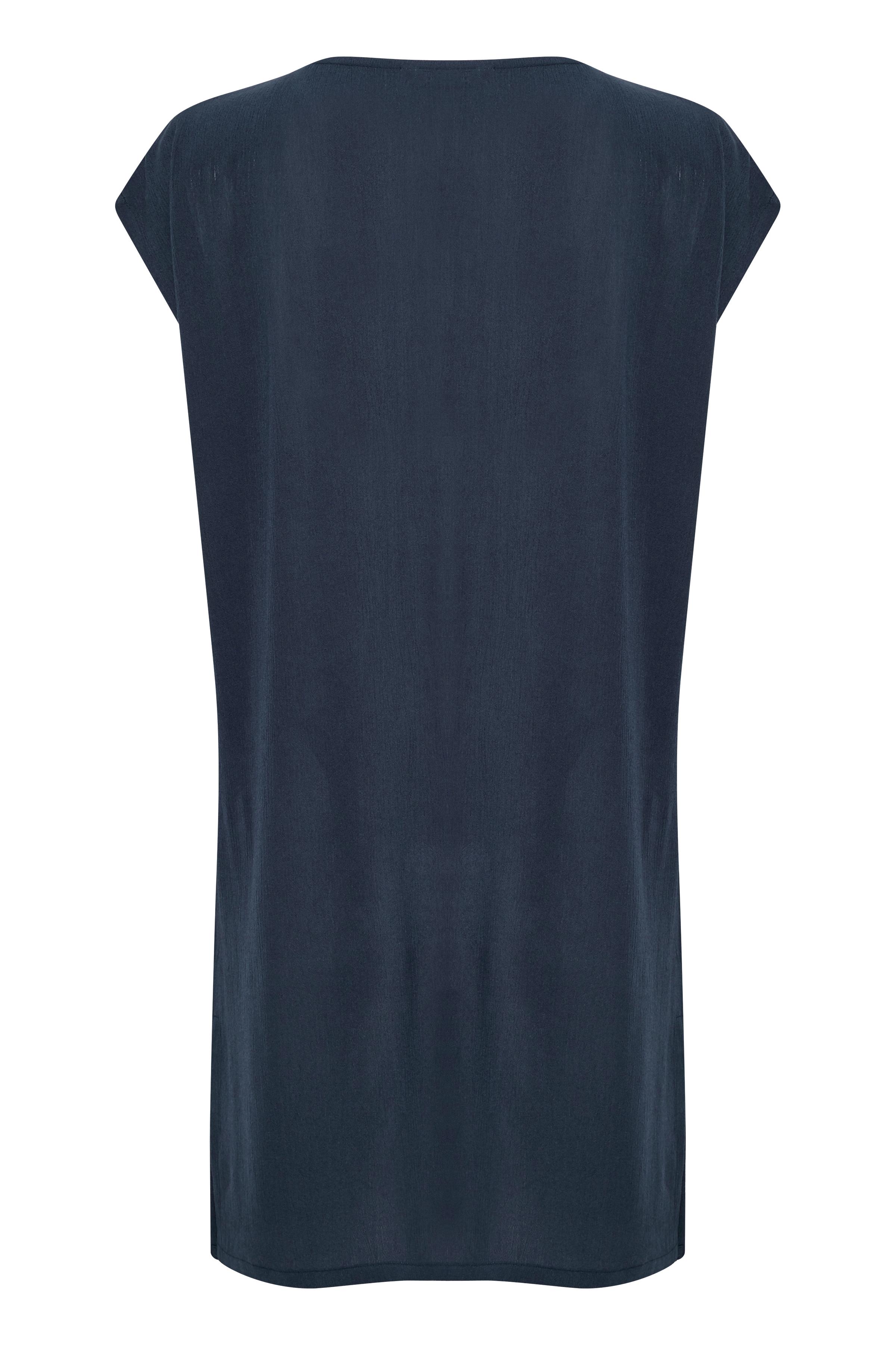 Mørkeblå Kjole fra Bon'A Parte – Køb Mørkeblå Kjole fra str. S-2XL her