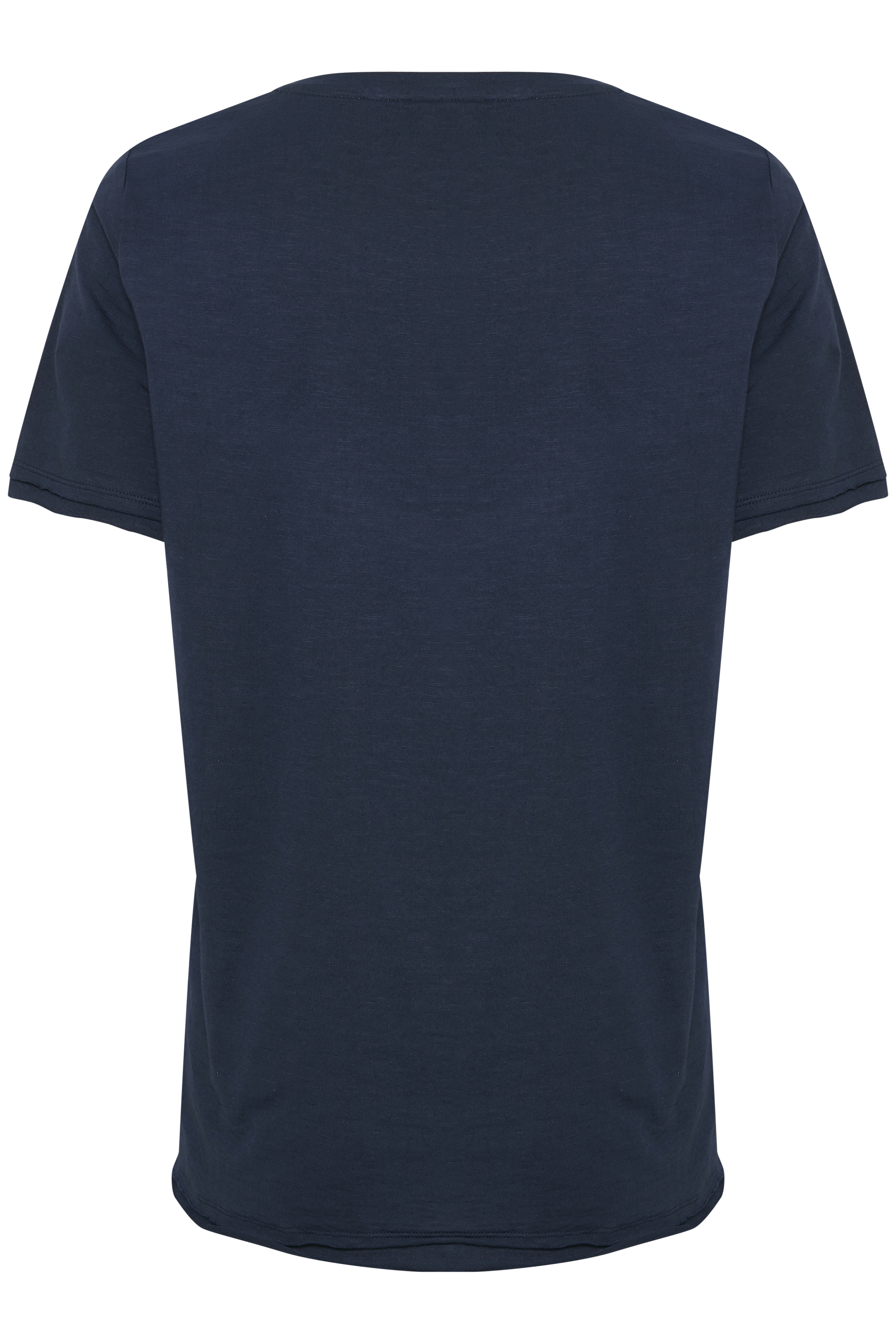 Mørkeblå Kortærmet T-shirt fra Bon'A Parte – Køb Mørkeblå Kortærmet T-shirt fra str. S-2XL her