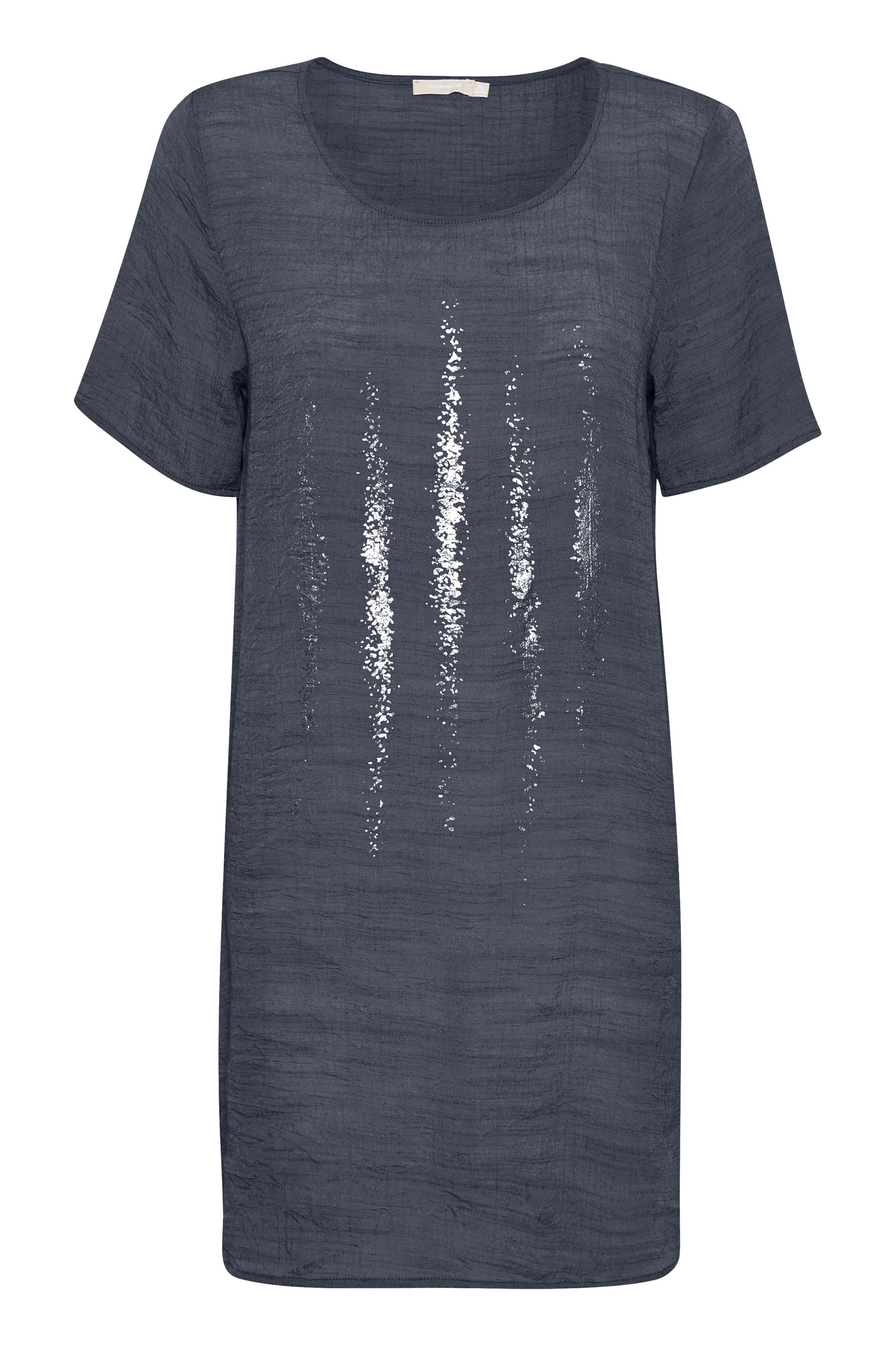 Mørkeblå Tunika fra Bon'A Parte – Køb Mørkeblå Tunika fra str. S-2XL her