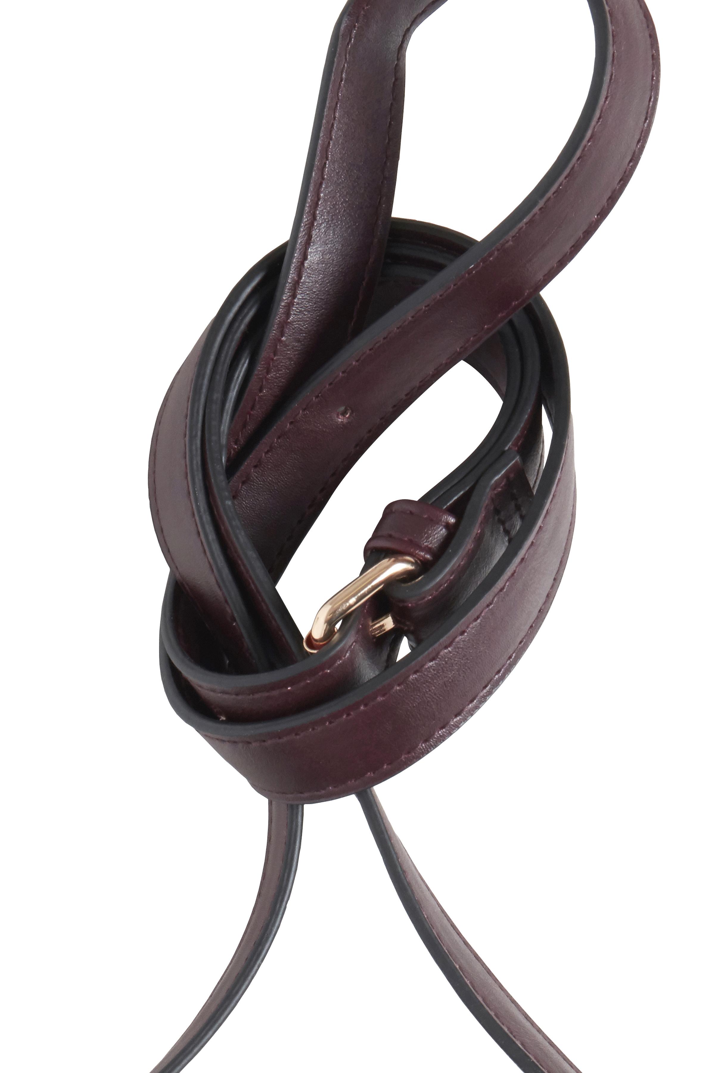 Mørkebrun Taske fra Ichi - accessories – Køb Mørkebrun Taske fra str. ONE her