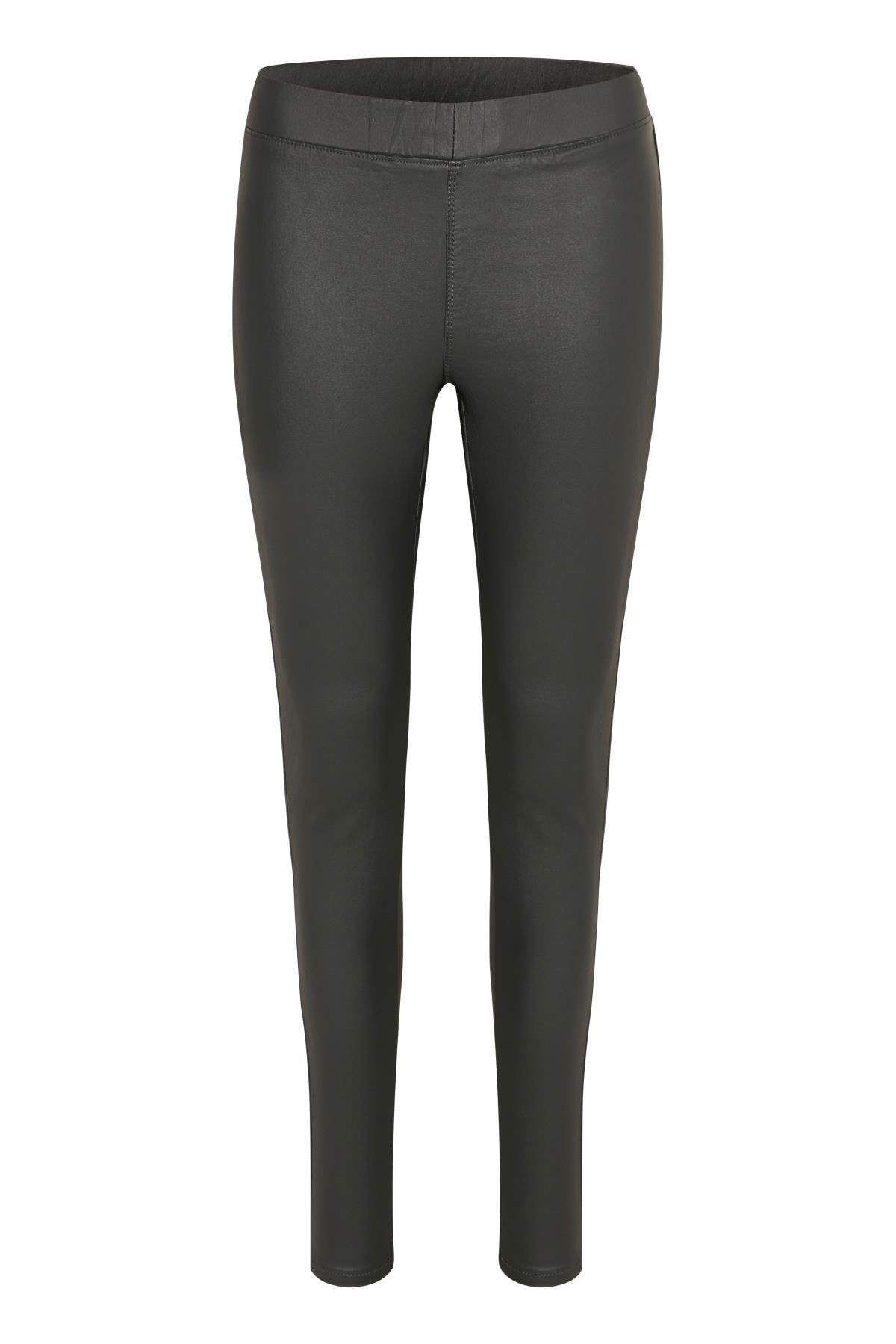 Mørkegrå Casual bukser fra Kaffe – Køb Mørkegrå Casual bukser fra str. 34-46 her
