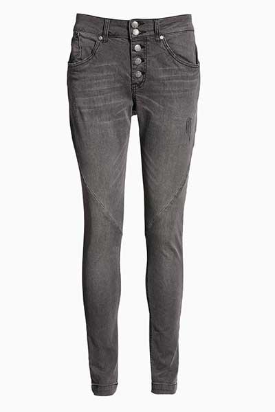 Mørkegrå Jeans fra Bon'A Parte – Køb Mørkegrå Jeans fra str. 34-54 her
