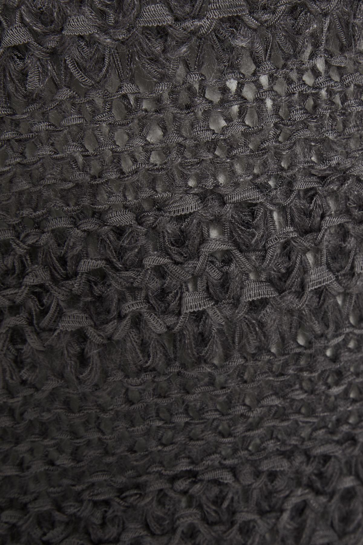 Mørkegrå Strikpullover fra Bon'A Parte – Køb Mørkegrå Strikpullover fra str. S-3XL her