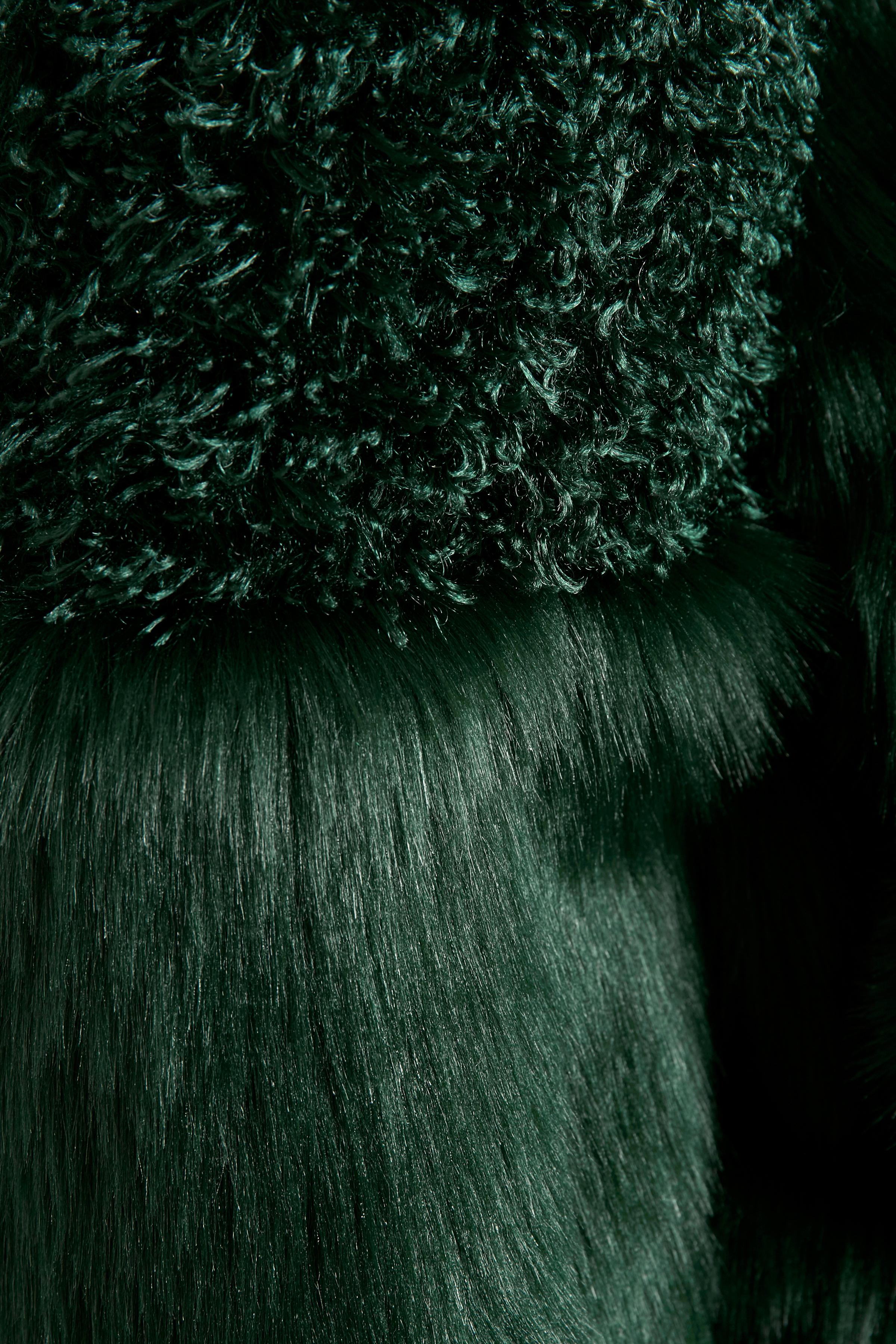 Mørkegrøn Frakke fra Cream – Køb Mørkegrøn Frakke fra str. 34-46 her