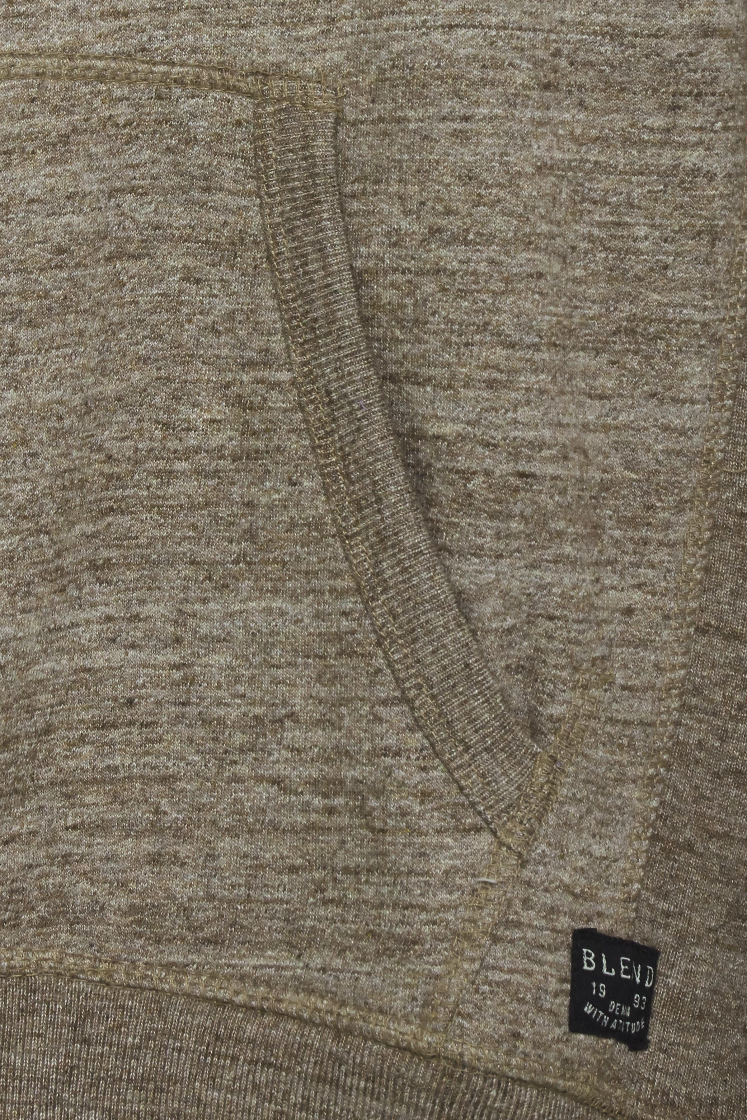 Mørkegrøn Hættetrøje med lynlås fra Blend He – Køb Mørkegrøn Hættetrøje med lynlås fra str. S-3XL her
