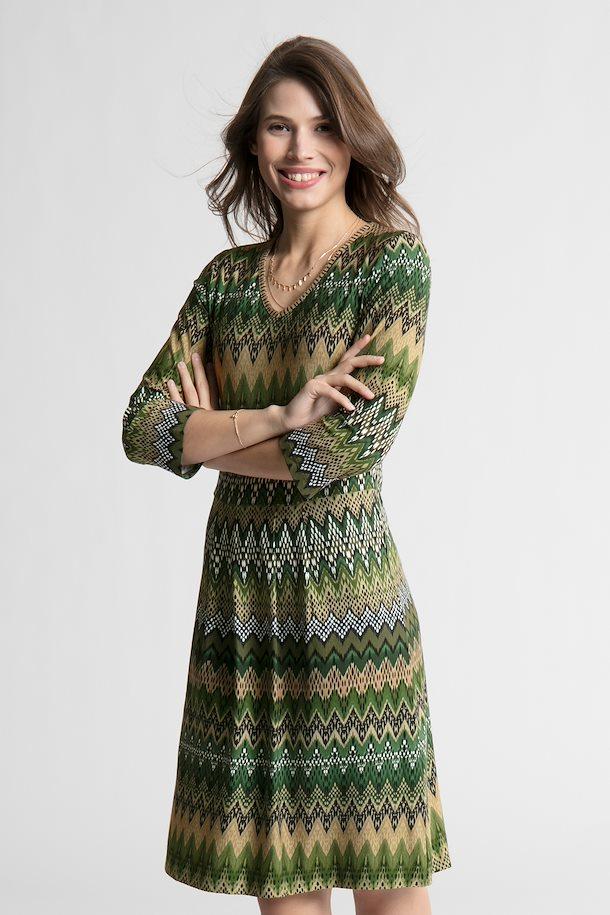 ec8709f4ecd7 Mørkegrøn Kjole fra Bon A Parte – Køb Mørkegrøn Kjole fra str. S-2XL her