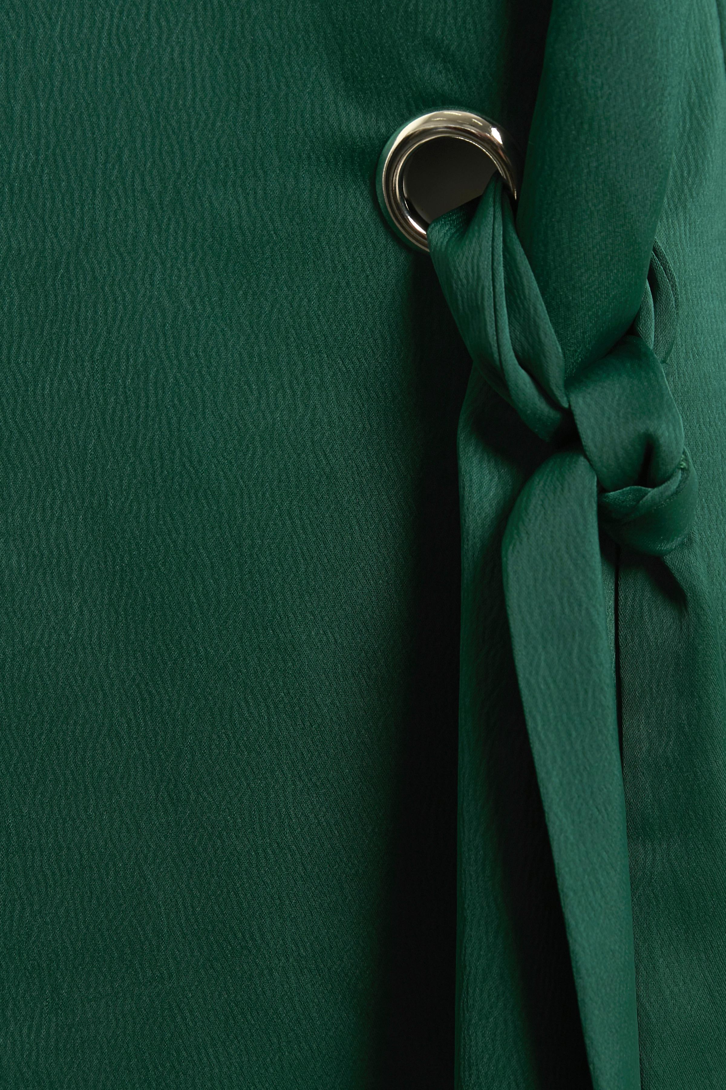 Mørkegrøn Kortærmet bluse fra Bon'A Parte – Køb Mørkegrøn Kortærmet bluse fra str. S-2XL her