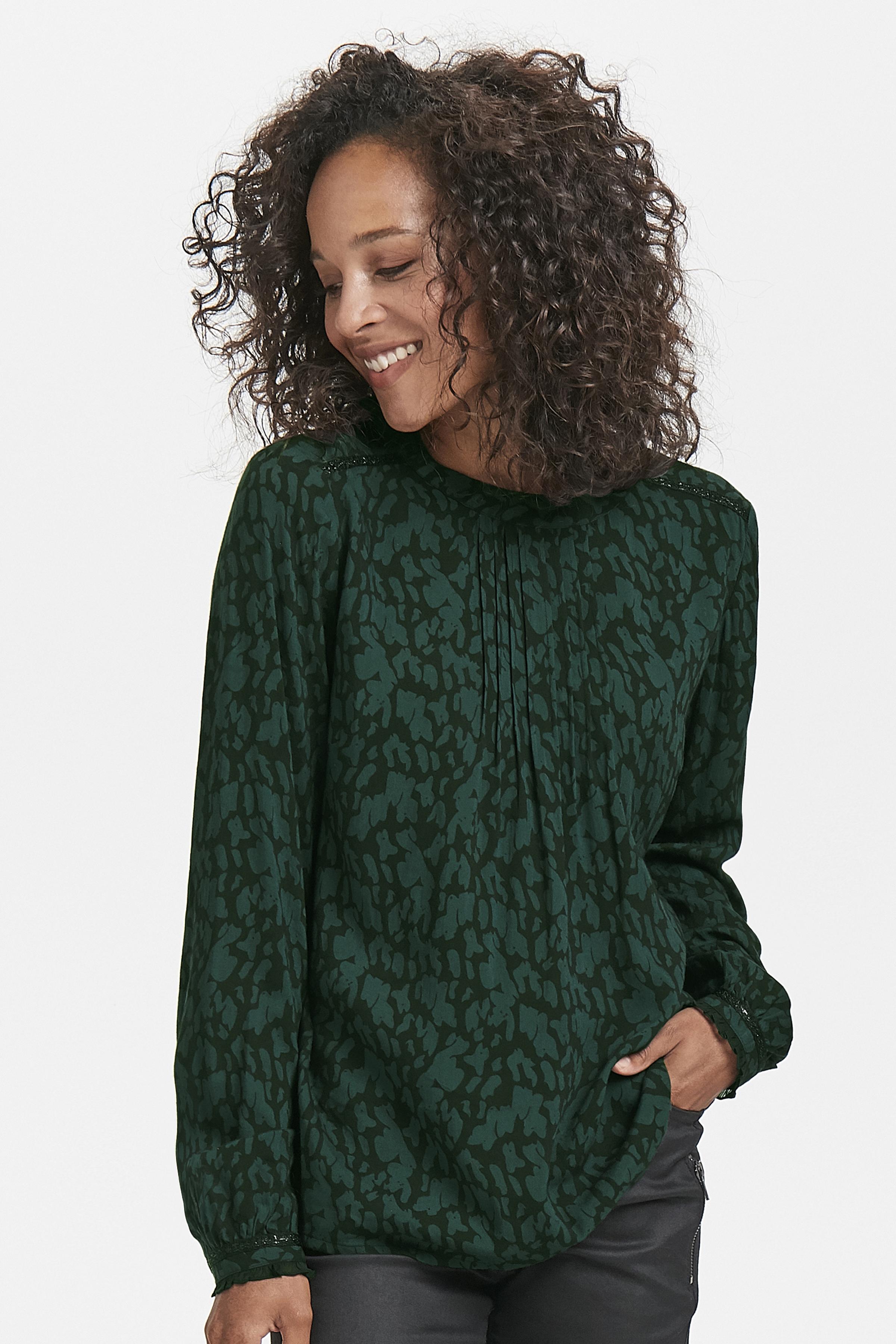 Mørkegrøn/sort