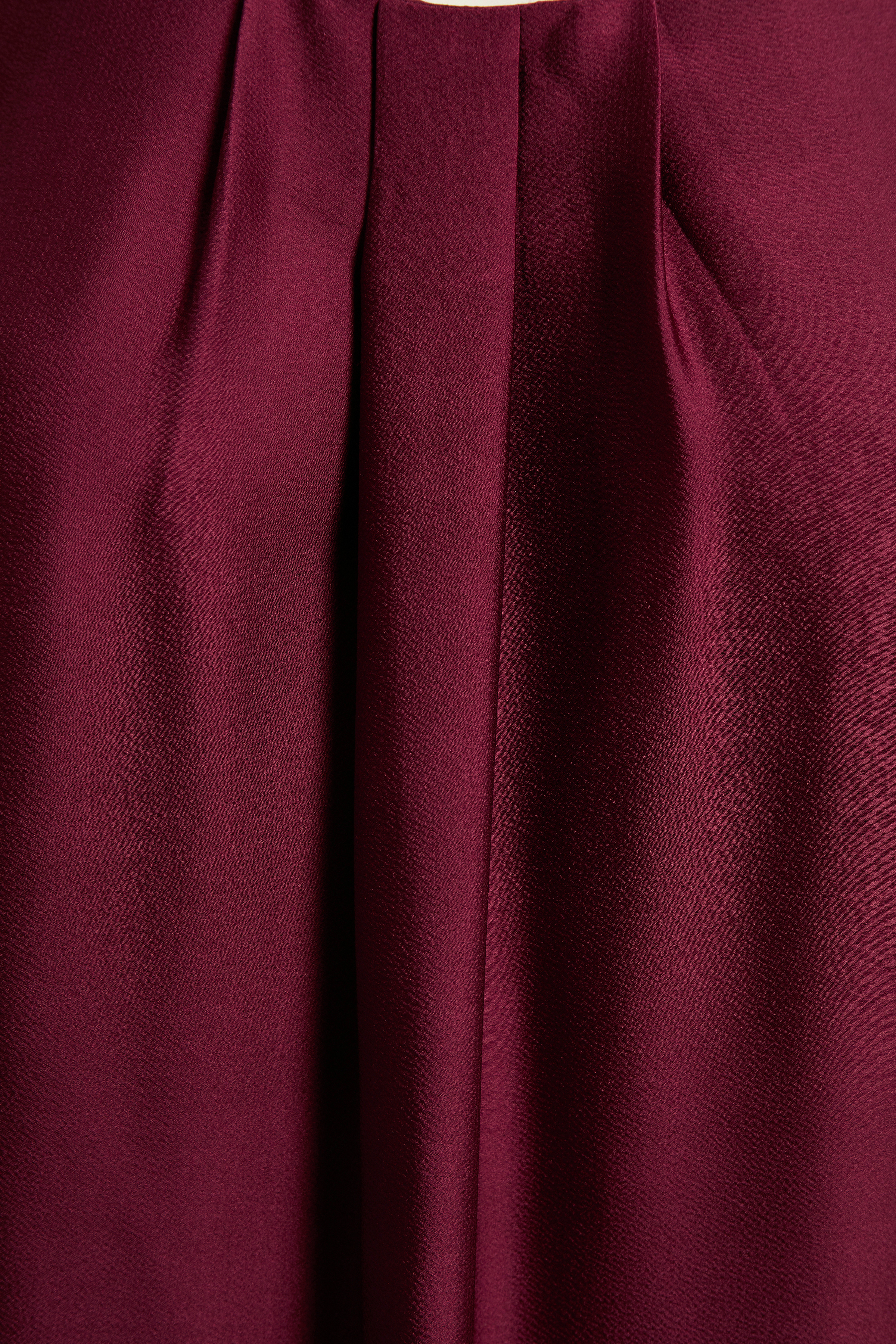 Mørkerød Kjole fra Bon'A Parte – Køb Mørkerød Kjole fra str. S-2XL her