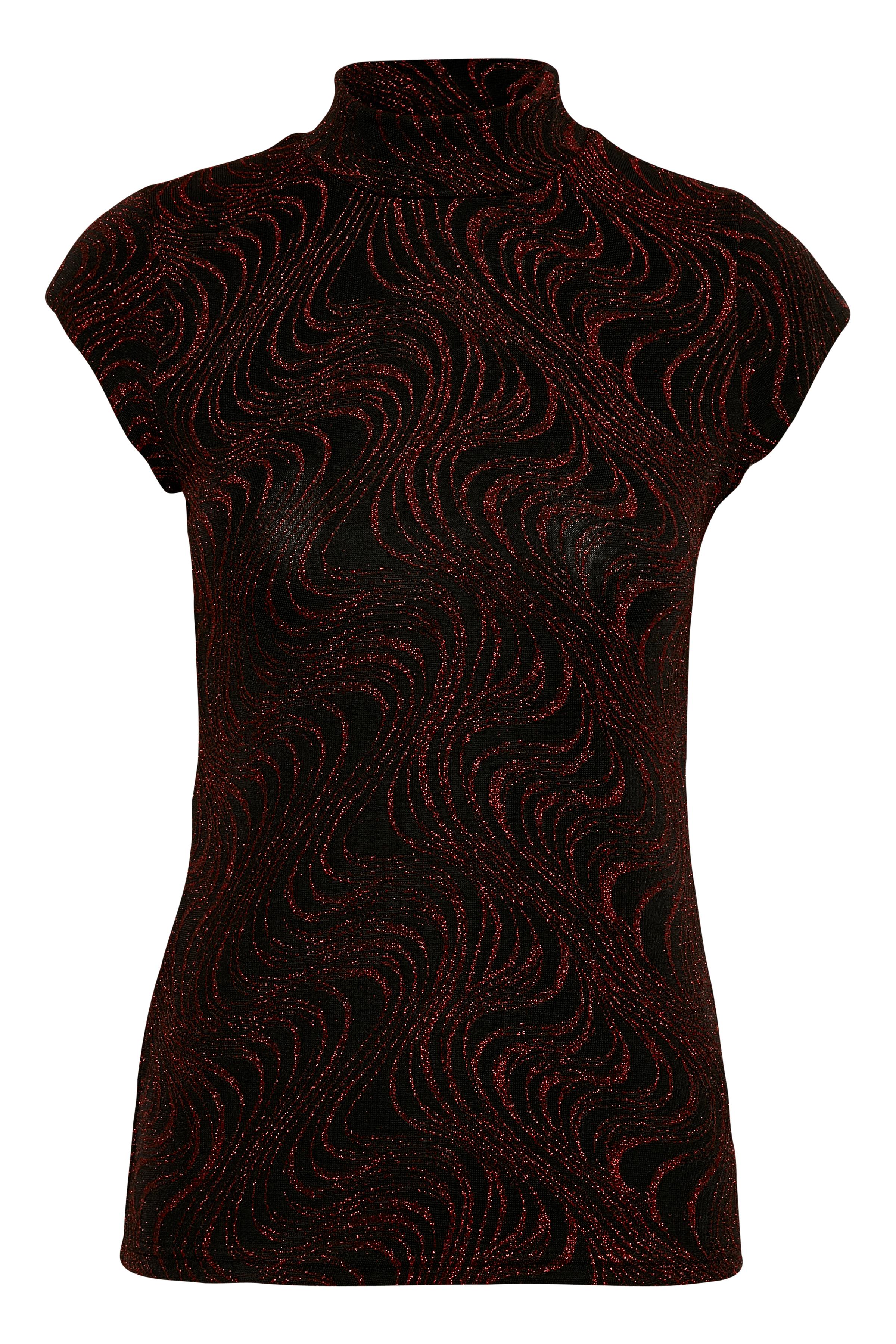Mørkerød Kortærmet T-shirt fra Kaffe – Køb Mørkerød Kortærmet T-shirt fra str. XS-XXL her