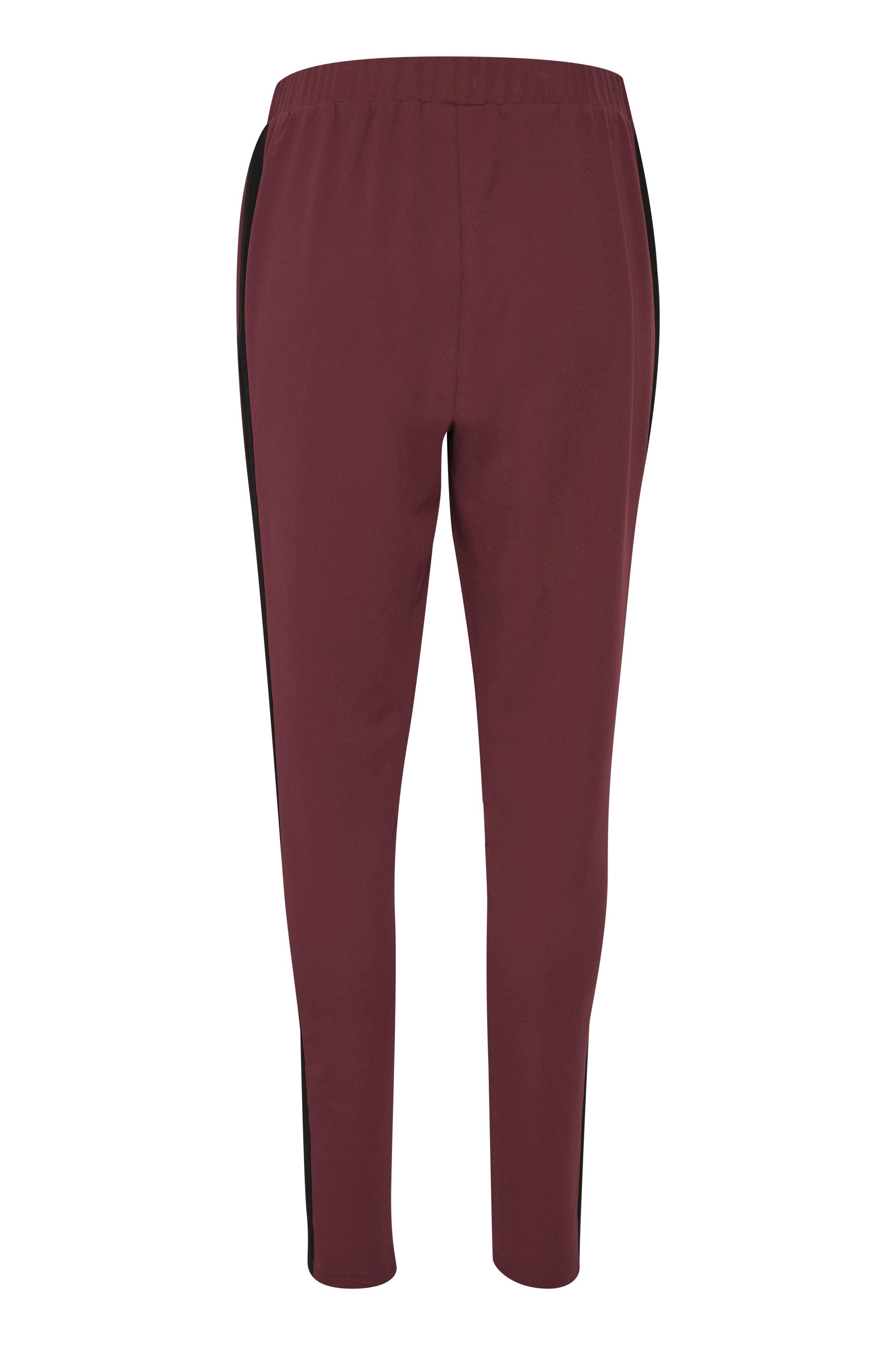 Mørkerød/sort Casual bukser fra Kaffe – Køb Mørkerød/sort Casual bukser fra str. XS-XXL her