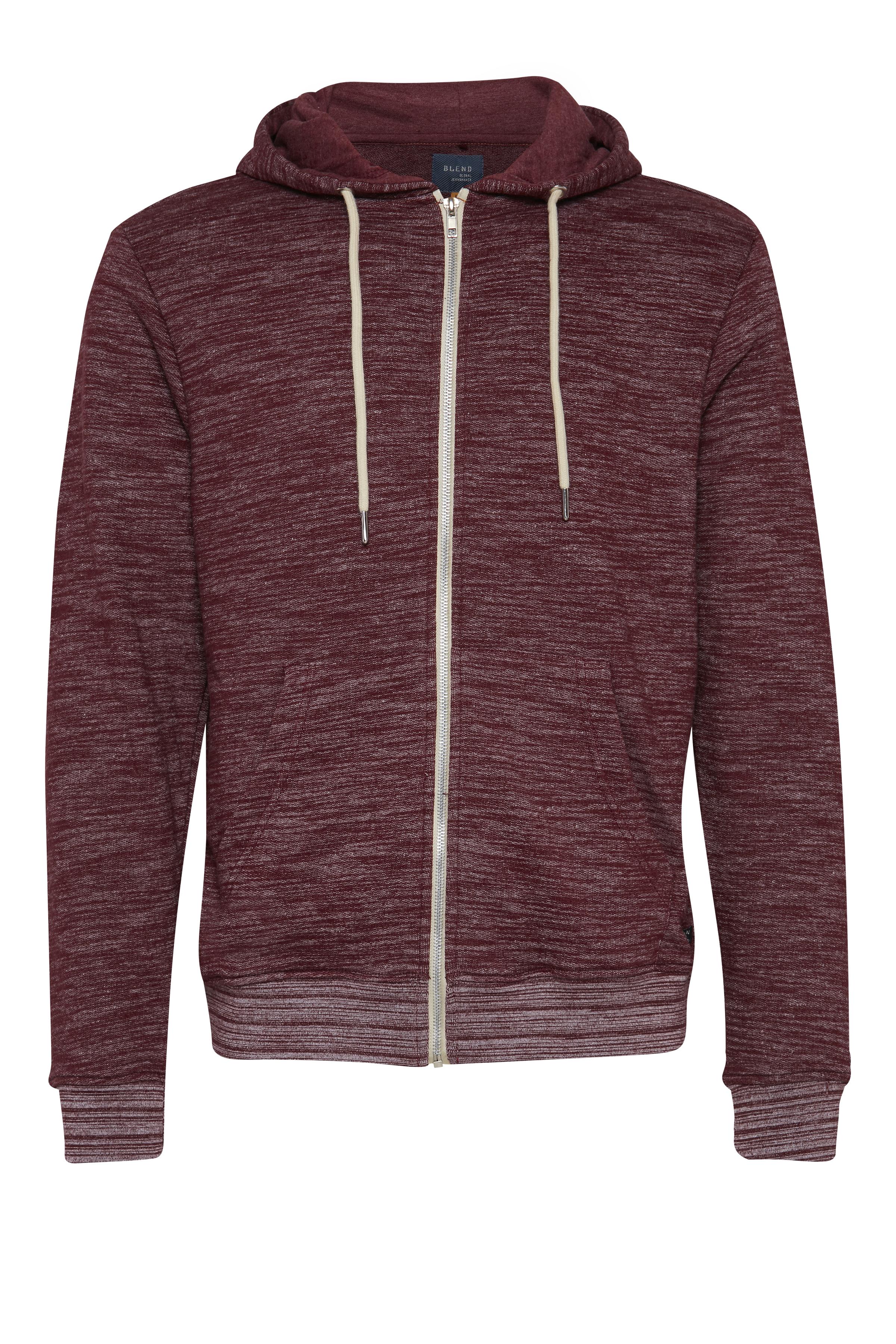 Mørkerød Sweatshirt fra Blend He – Køb Mørkerød Sweatshirt fra str. S-3XL her
