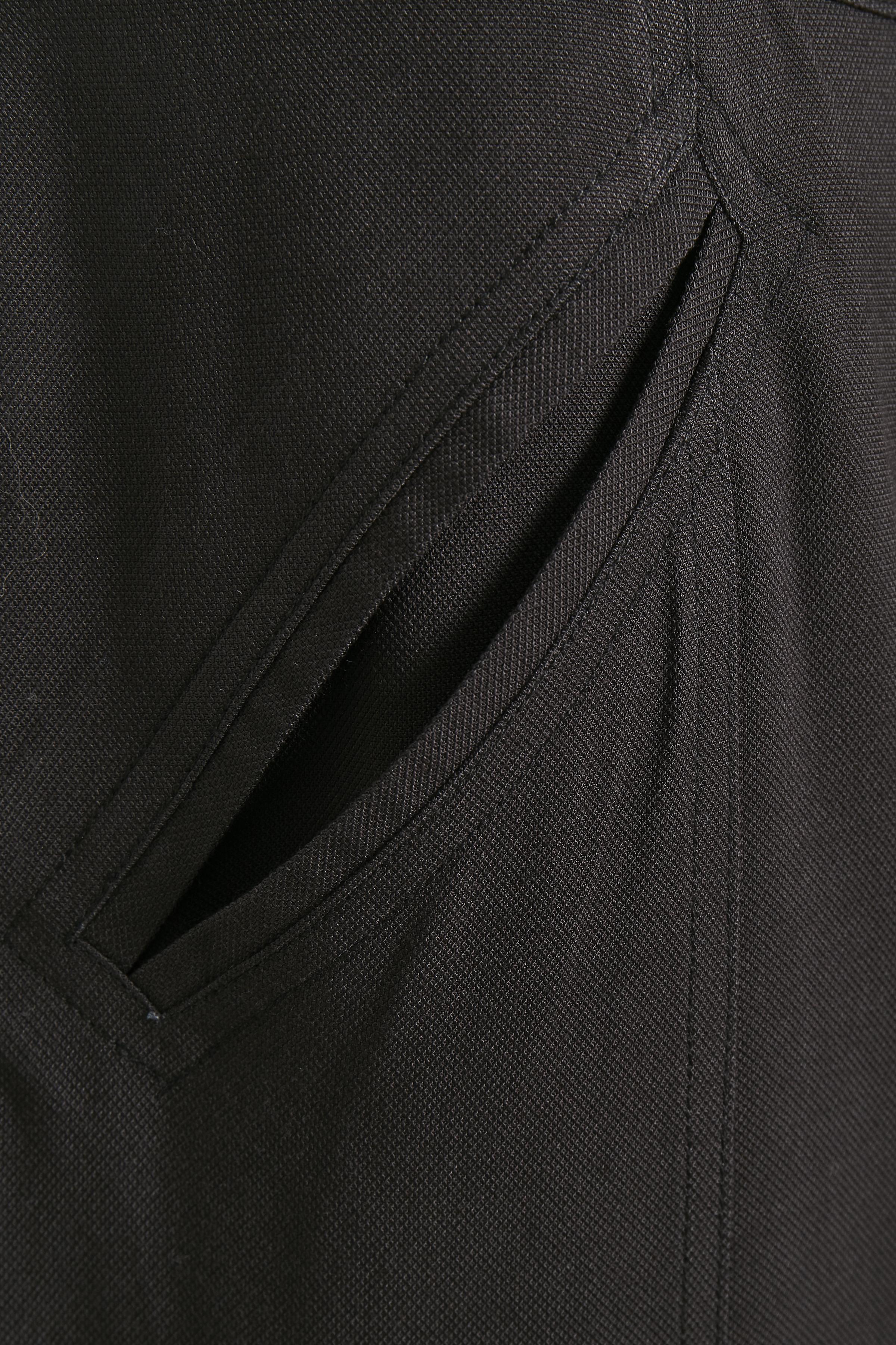 Mörk antracitgrå Ankelbyxa från Bon'A Parte – Köp Mörk antracitgrå Ankelbyxa från stl. 36-48 här
