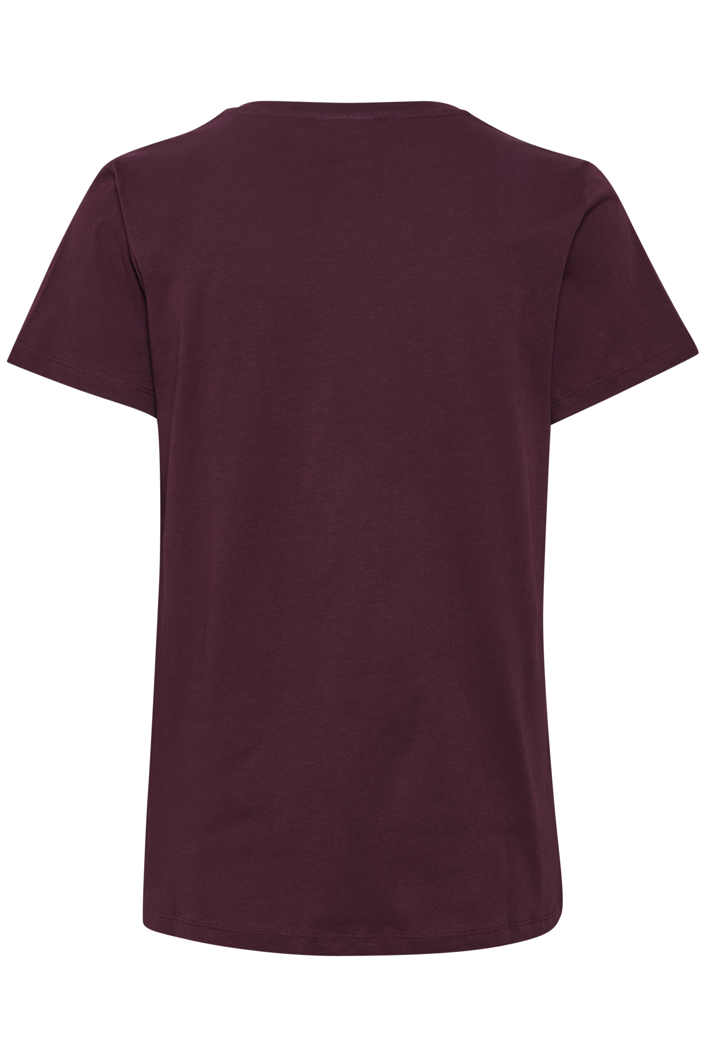 Mörk bordeaux Kortärmad T-shirt från Kaffe – Köp Mörk bordeaux Kortärmad T-shirt från stl. XS-XXL här