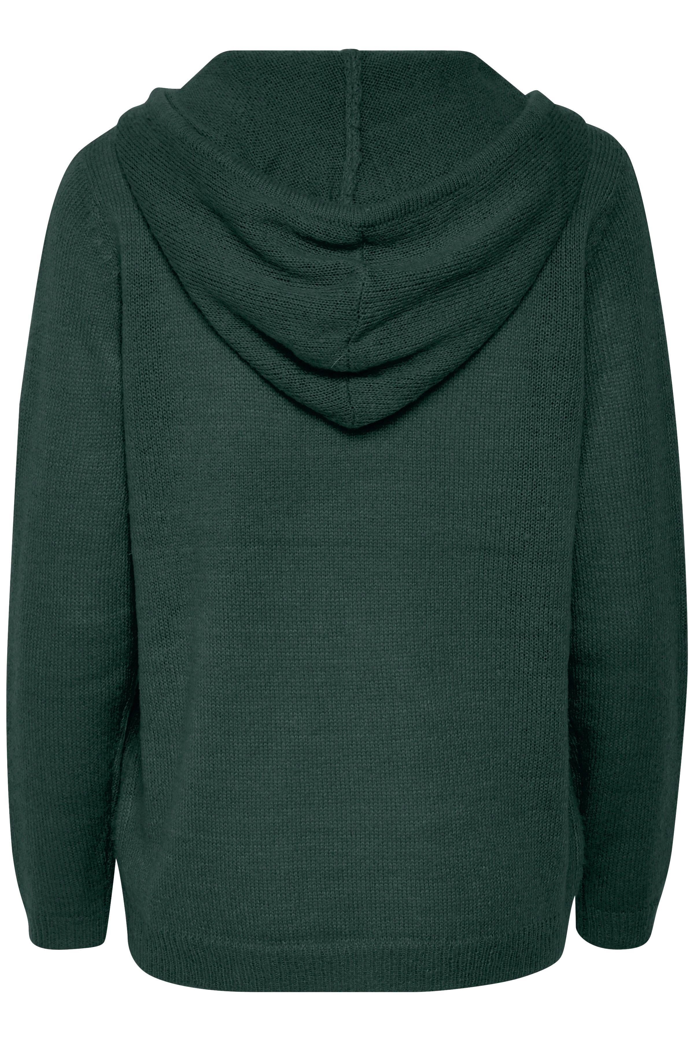 Mörk buteljgrön Huvtröja  från Denim Hunter – Köp Mörk buteljgrön Huvtröja  från stl. XS-XXL här