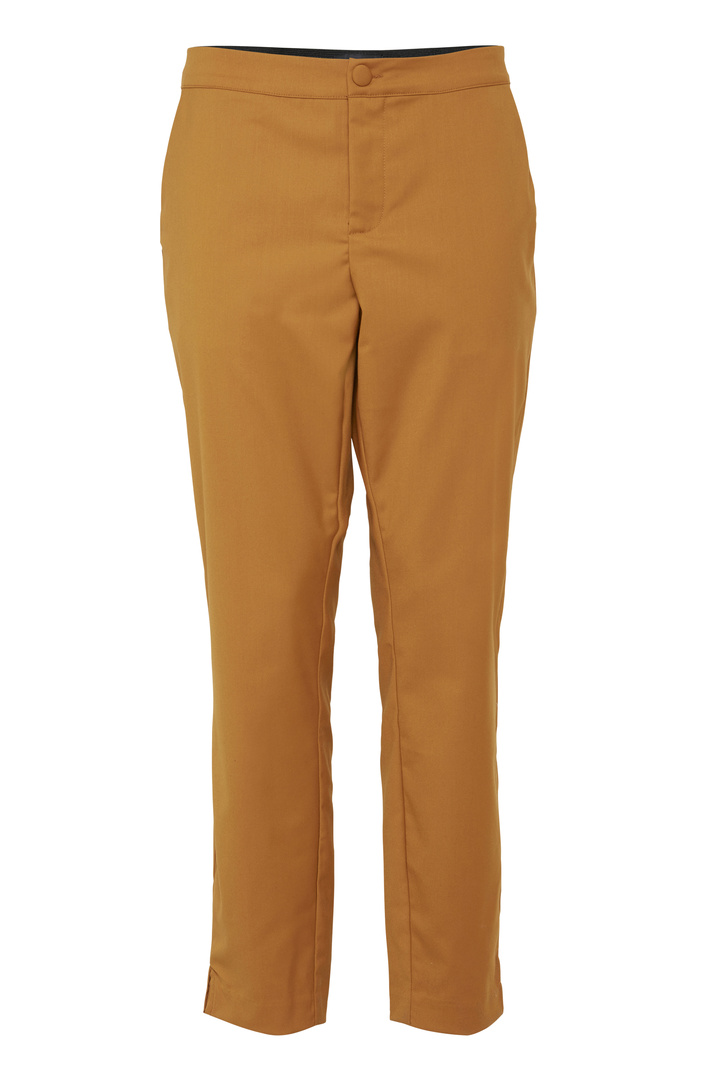 Mörk curry Casual byxor från Pulz Jeans – Köp Mörk curry Casual byxor från stl. 32-46 här