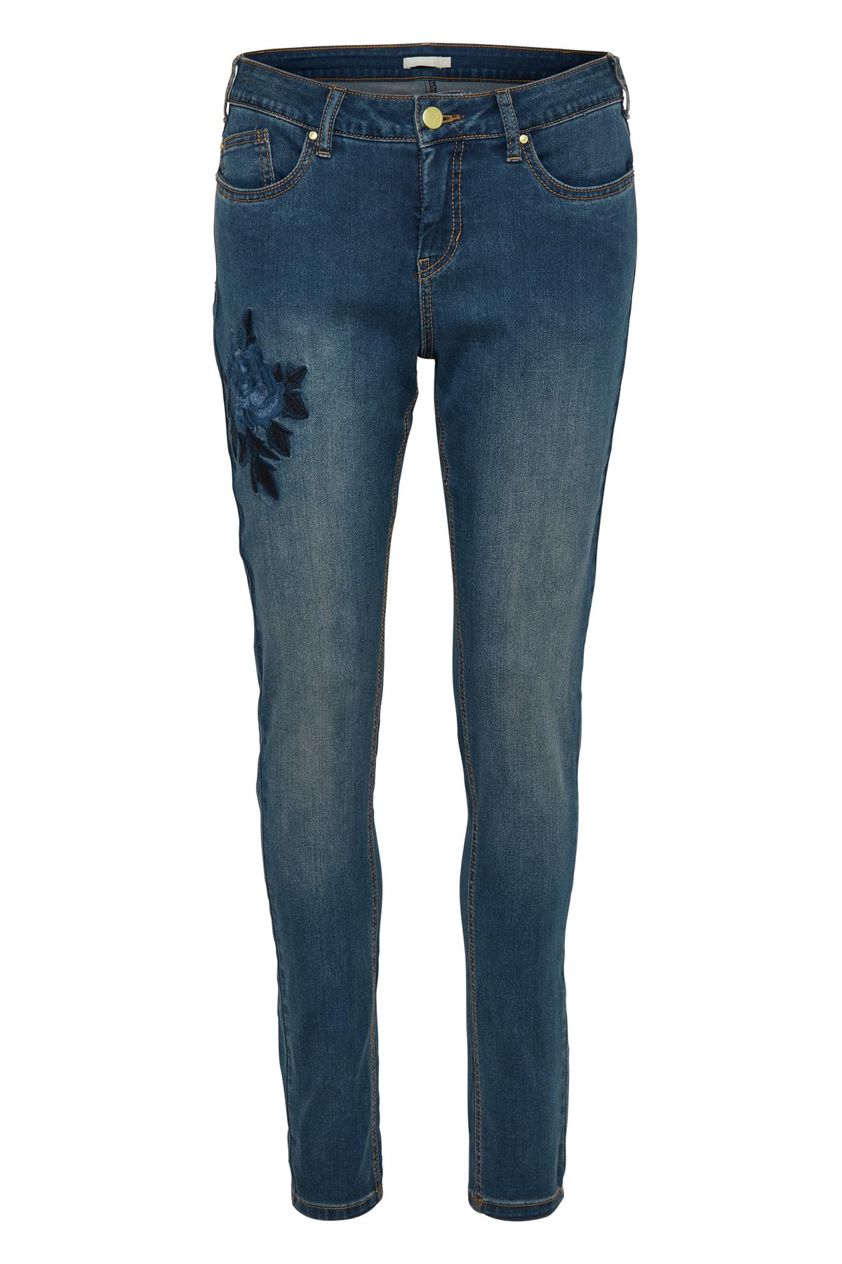 Mörk denimblå Jeans från Bon'A Parte – Köp Mörk denimblå Jeans från stl. 36-48 här