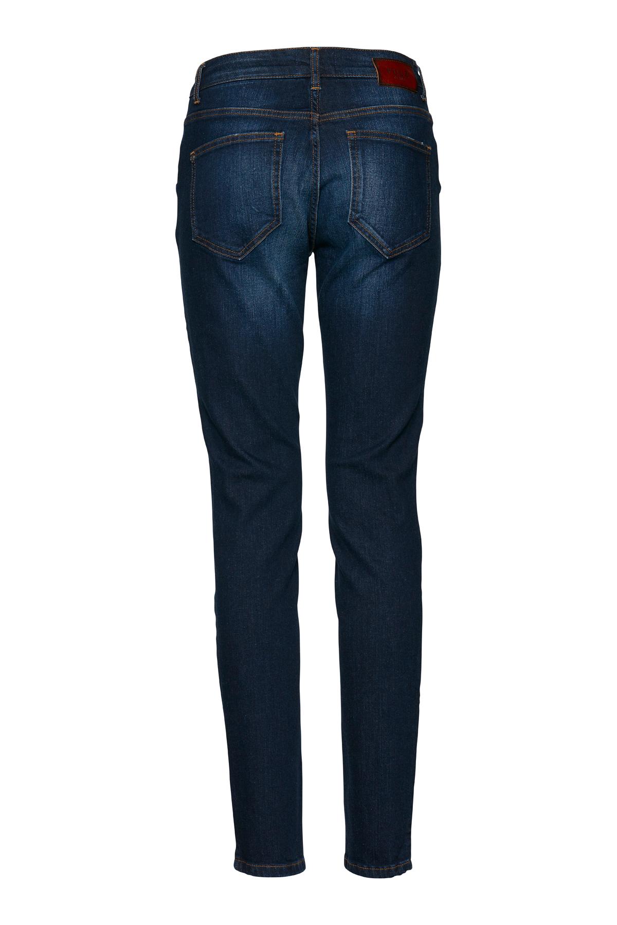 Mörk denimblå Jeans från Pulz Jeans – Köp Mörk denimblå Jeans från stl. 25-34 här