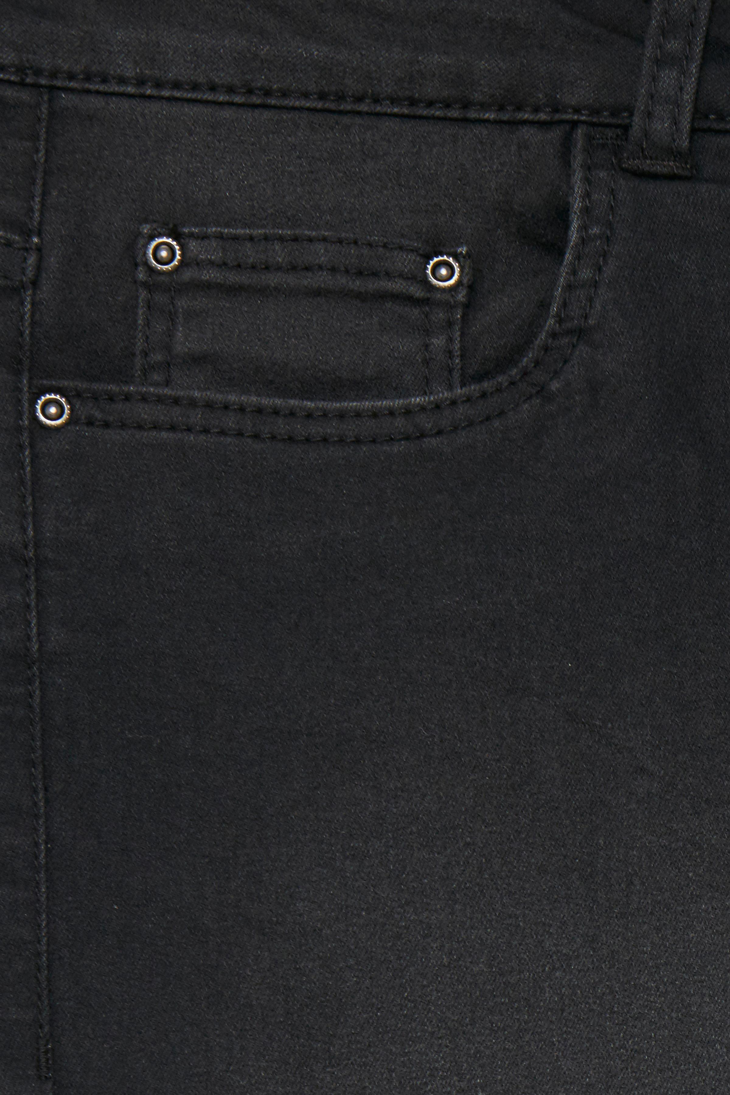 Mörk denimgrå Ankel-denimbyxa från b.young – Köp Mörk denimgrå Ankel-denimbyxa från stl. 25-36 här