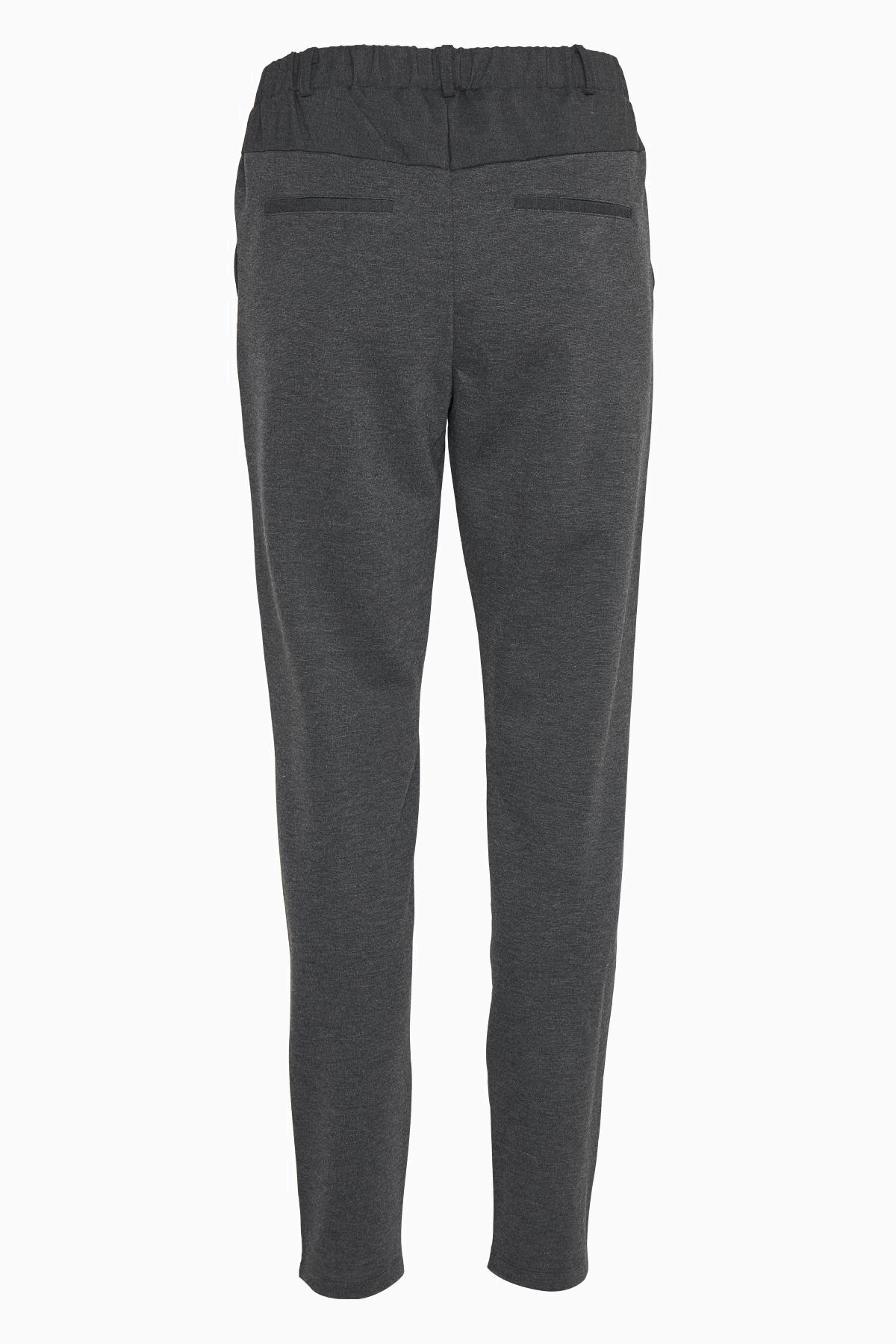 Mörk gråmelerad Casual byxor från Culture – Köp Mörk gråmelerad Casual byxor från stl. XS-XXL här