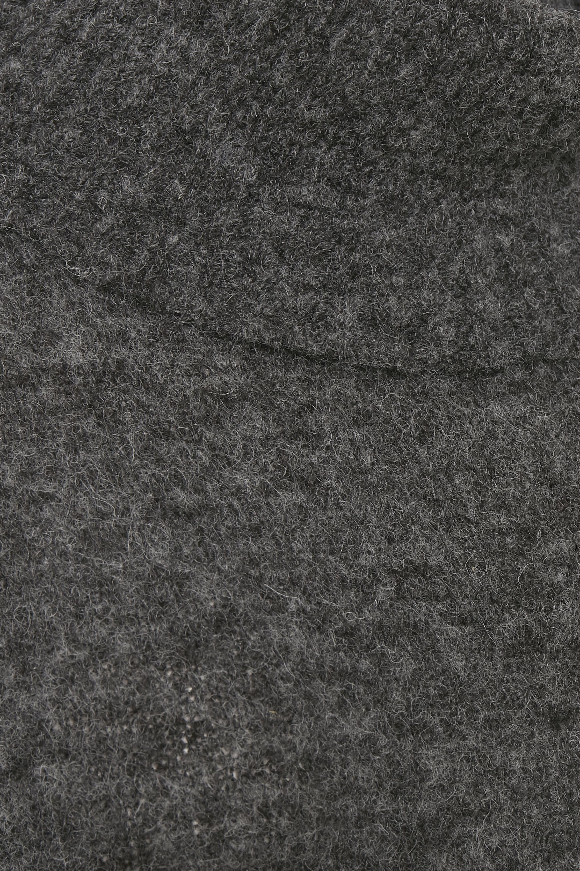 Mörk gråmelerad/curry Stickad pullover från Bon'A Parte – Köp Mörk gråmelerad/curry Stickad pullover från stl. S-2XL här