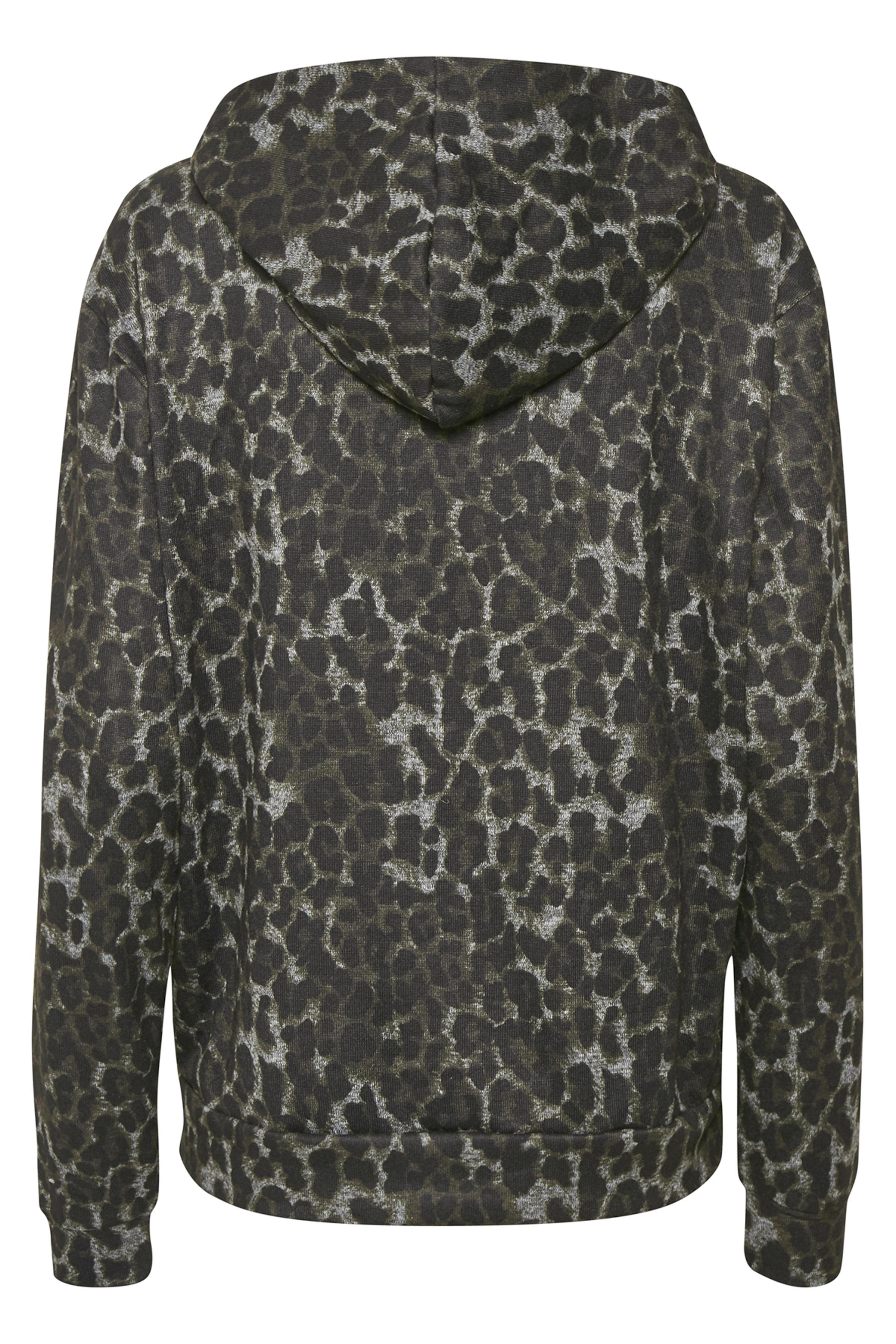 Mörk gråmelerad/svart Sweatshirt från Kaffe – Köp Mörk gråmelerad/svart Sweatshirt från stl. XS-XXL här