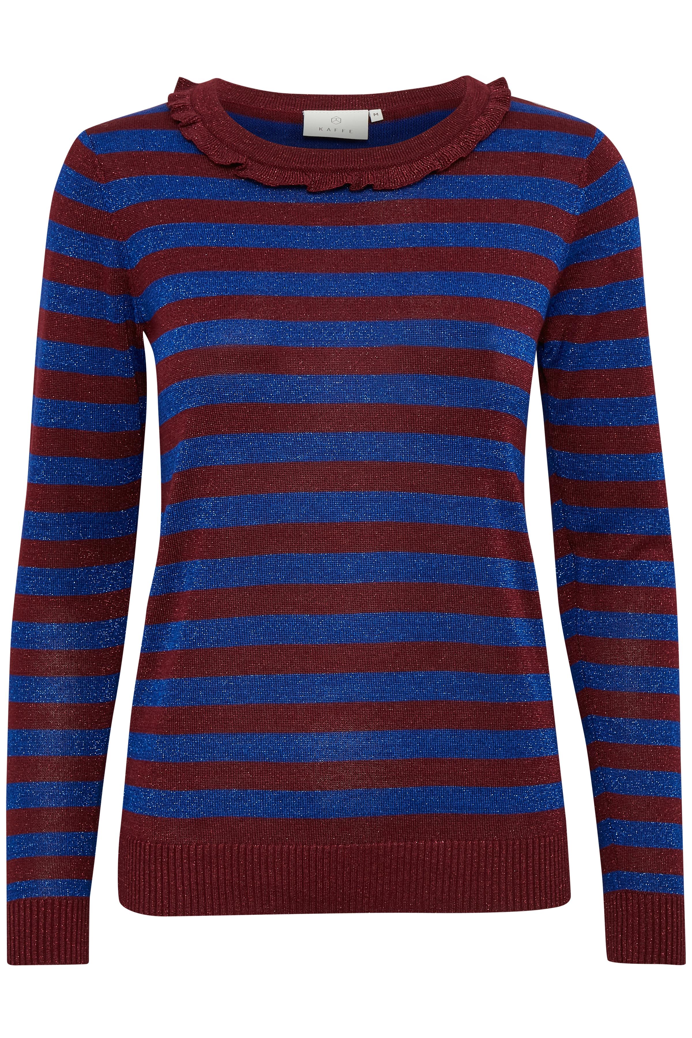 Mörk kobolt/marinblå Stickad pullover från Kaffe – Köp Mörk kobolt/marinblå Stickad pullover från stl. XS-XXL här