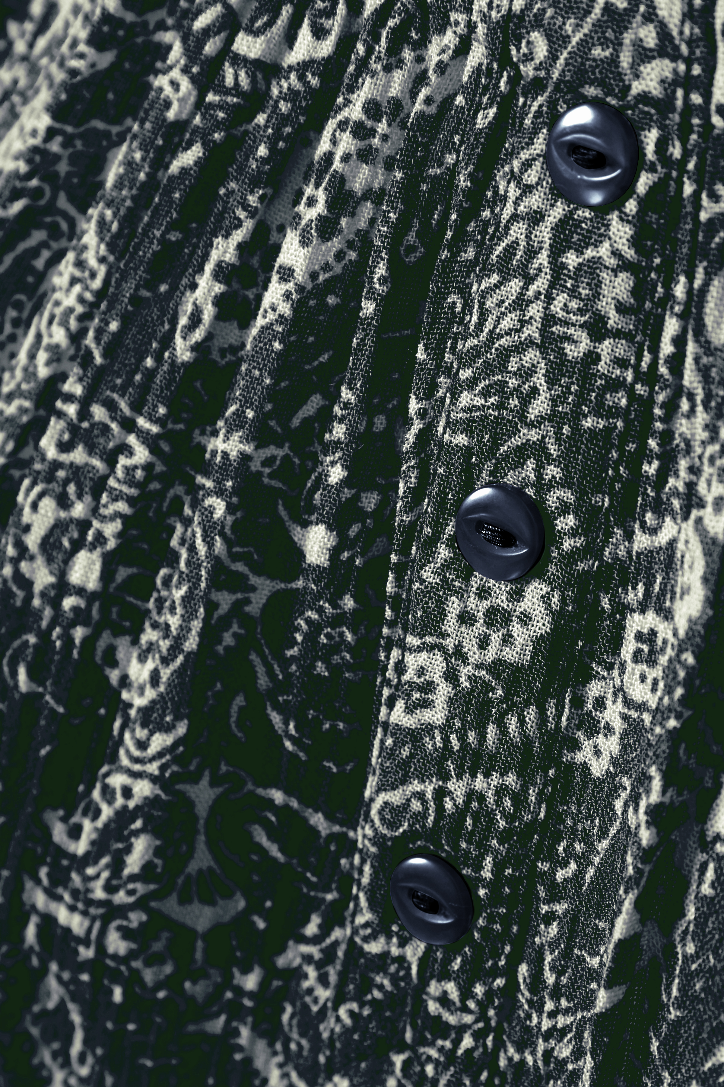 Mörkblå/crème Blus från Bon'A Parte – Köp Mörkblå/crème Blus från stl. S-2XL här