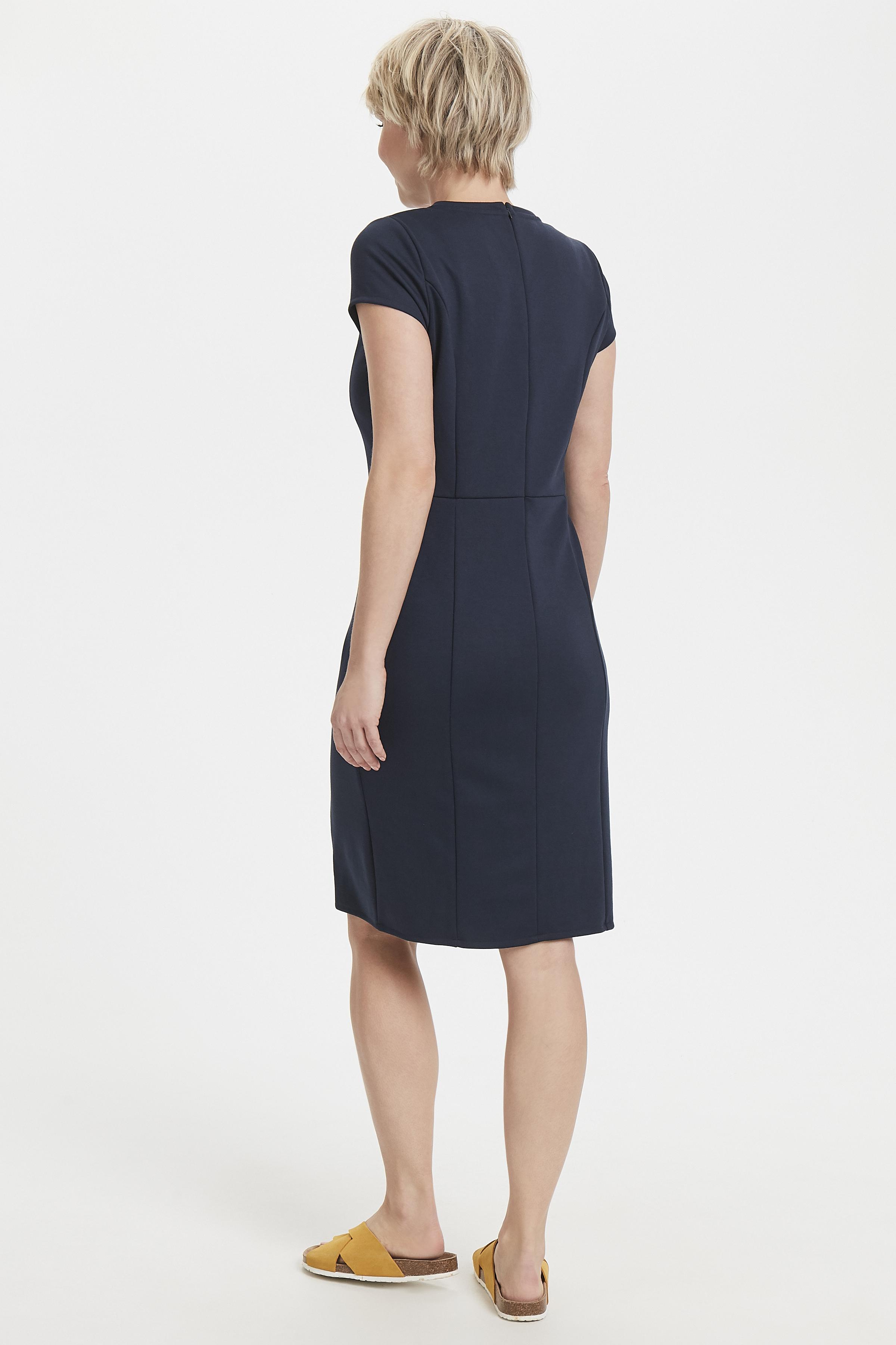 Mörkblå Klänning från Bon'A Parte – Köp Mörkblå Klänning från stl. S-2XL här